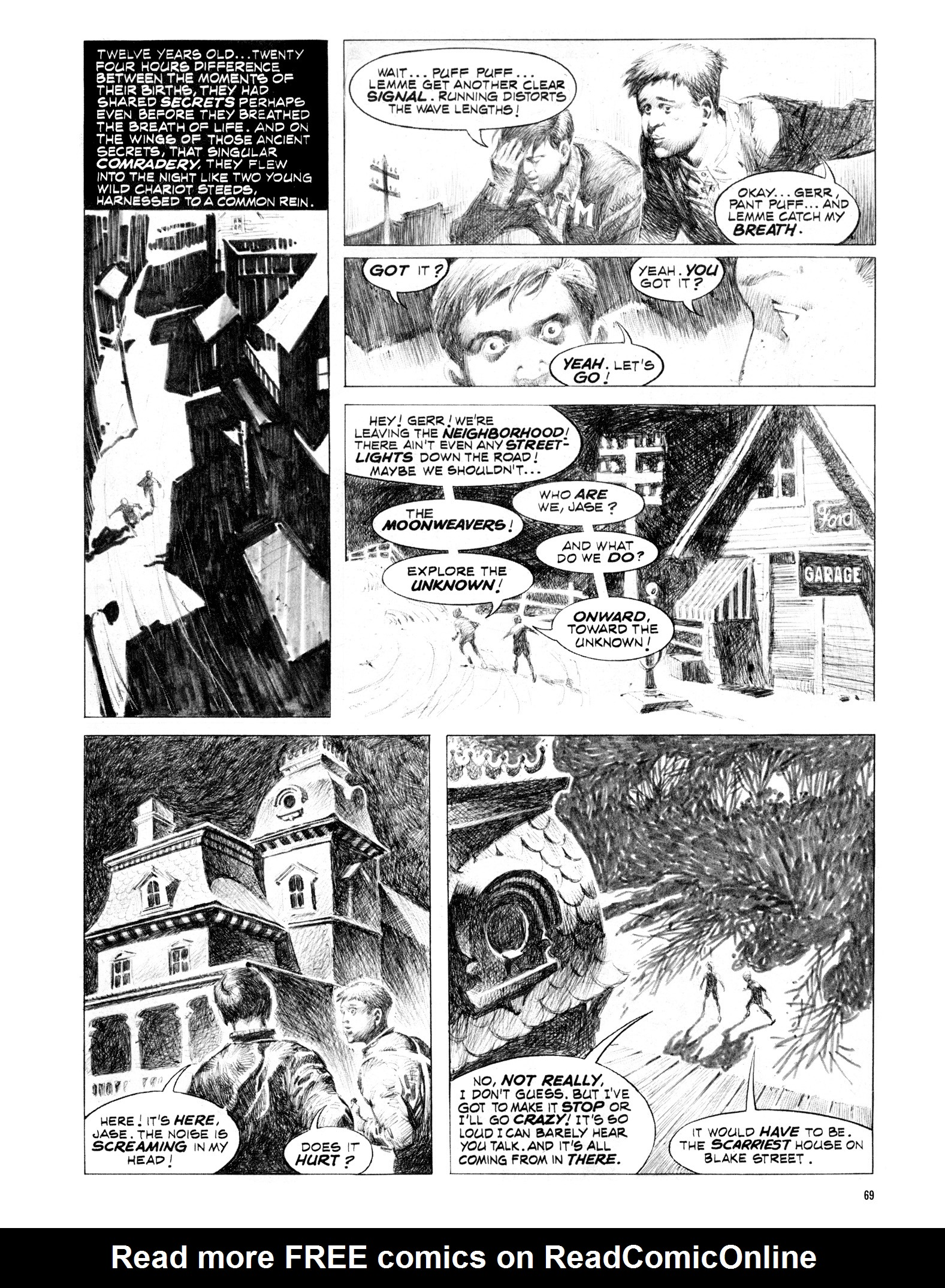 Read online Eerie Archives comic -  Issue # TPB 16 - 70