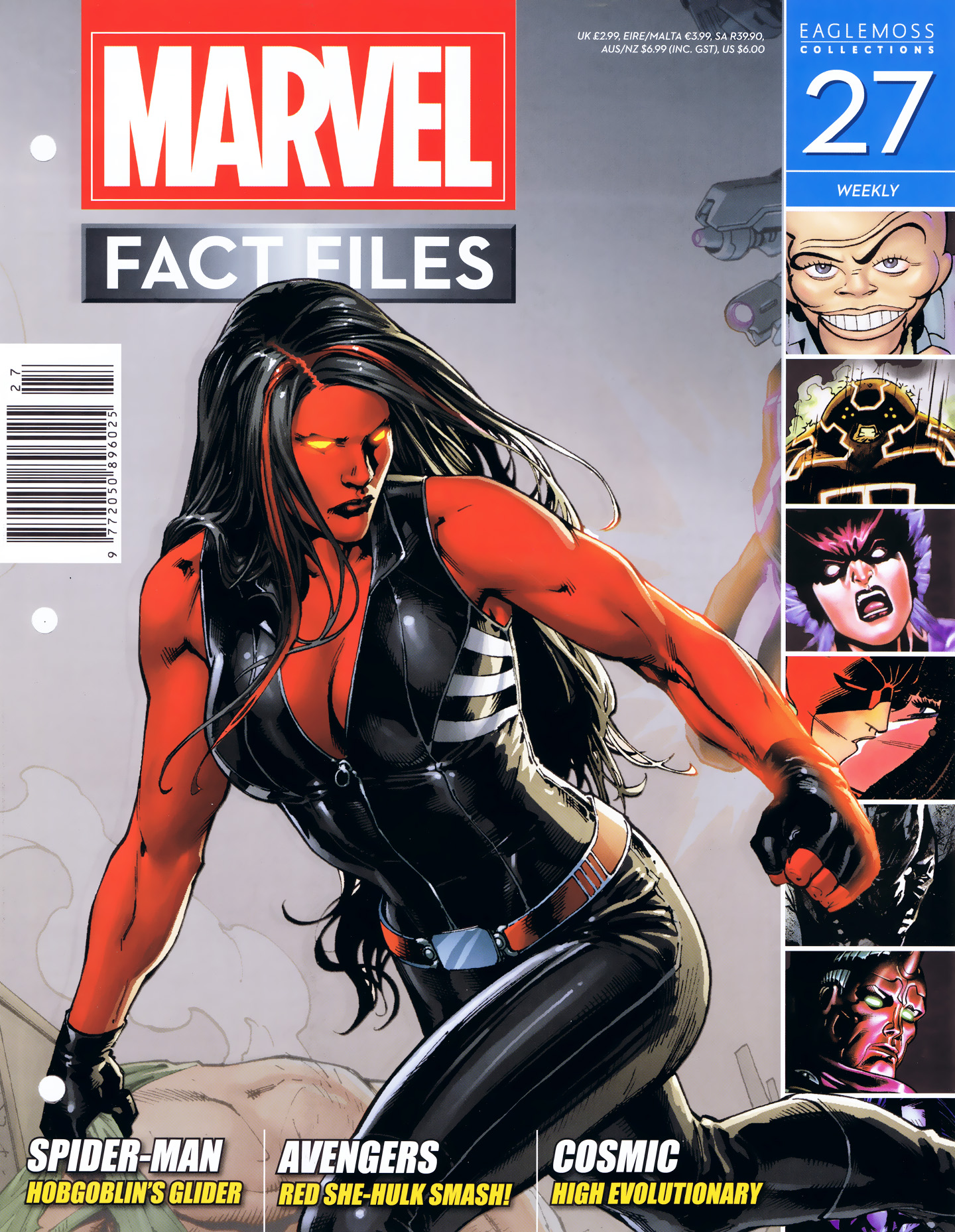Marvel Fact Files 27 Page 1