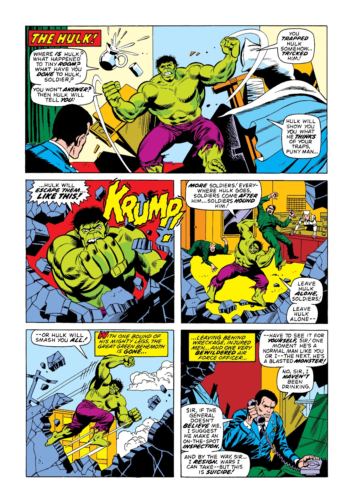 Read online Marvel Masterworks: The Incredible Hulk comic -  Issue # TPB 10 (Part 2) - 17