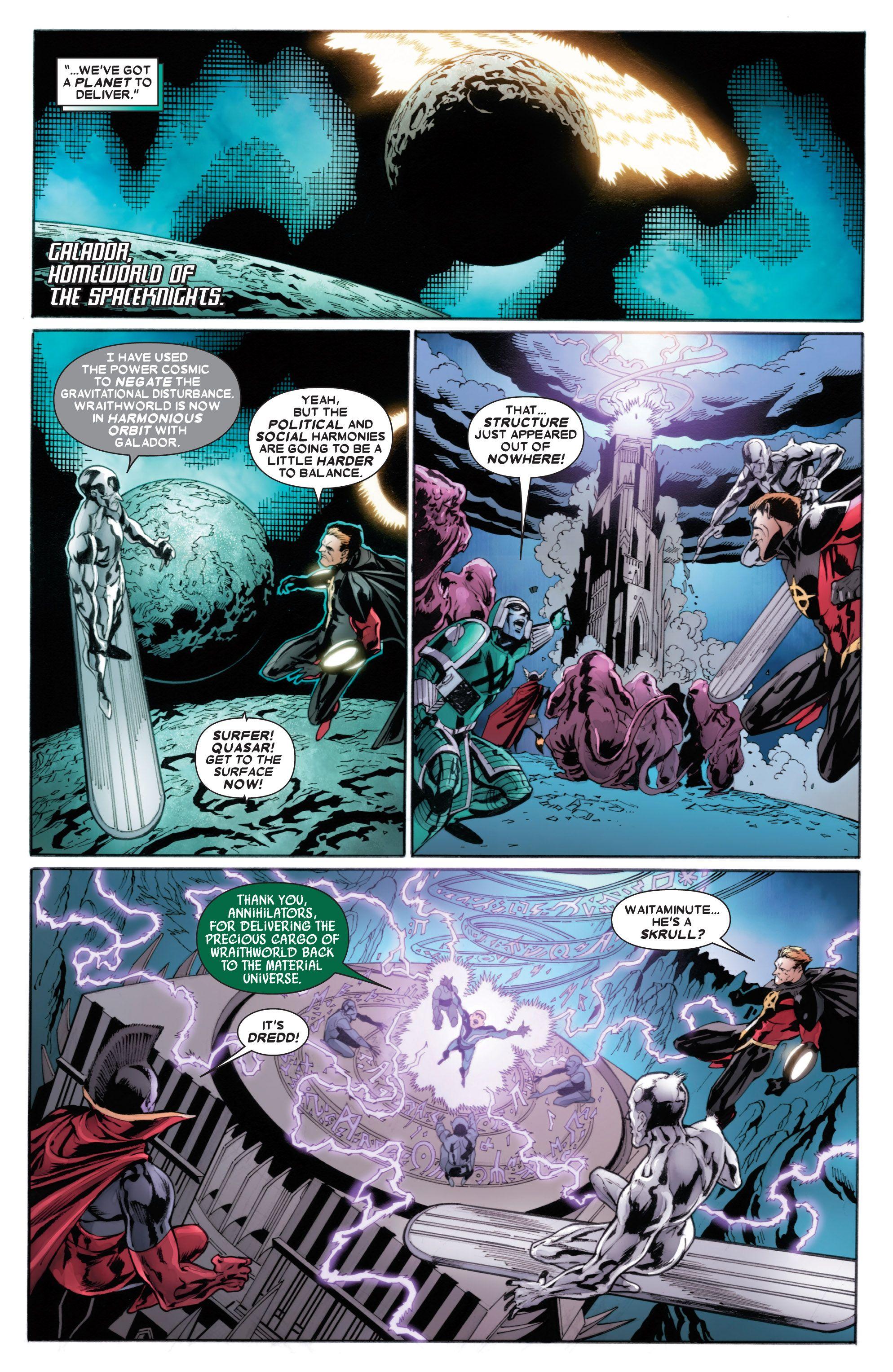 Read online Annihilators comic -  Issue #4 - 11
