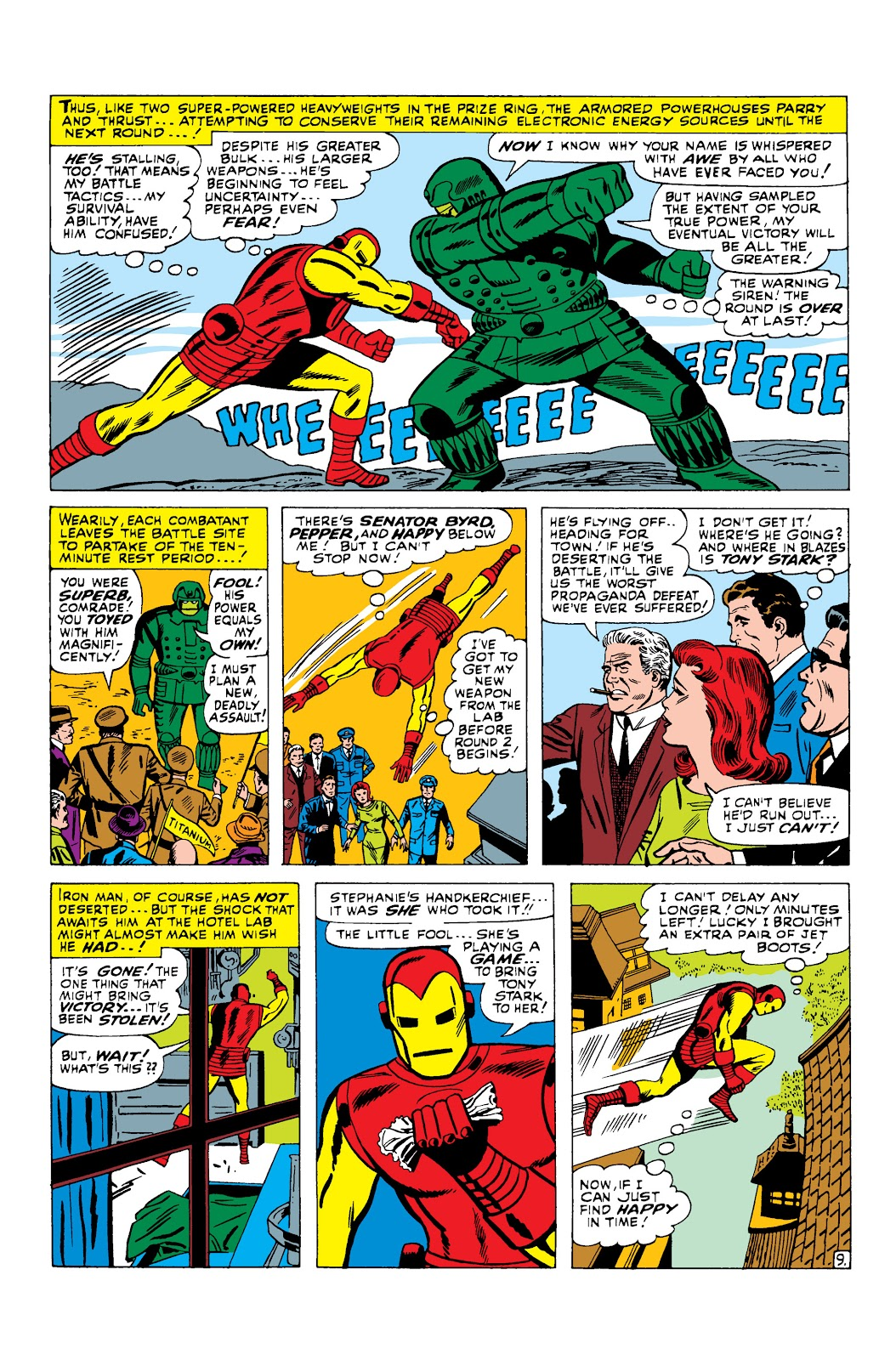 Read online Marvel Masterworks: The Invincible Iron Man comic -  Issue # TPB 3 (Part 2) - 4