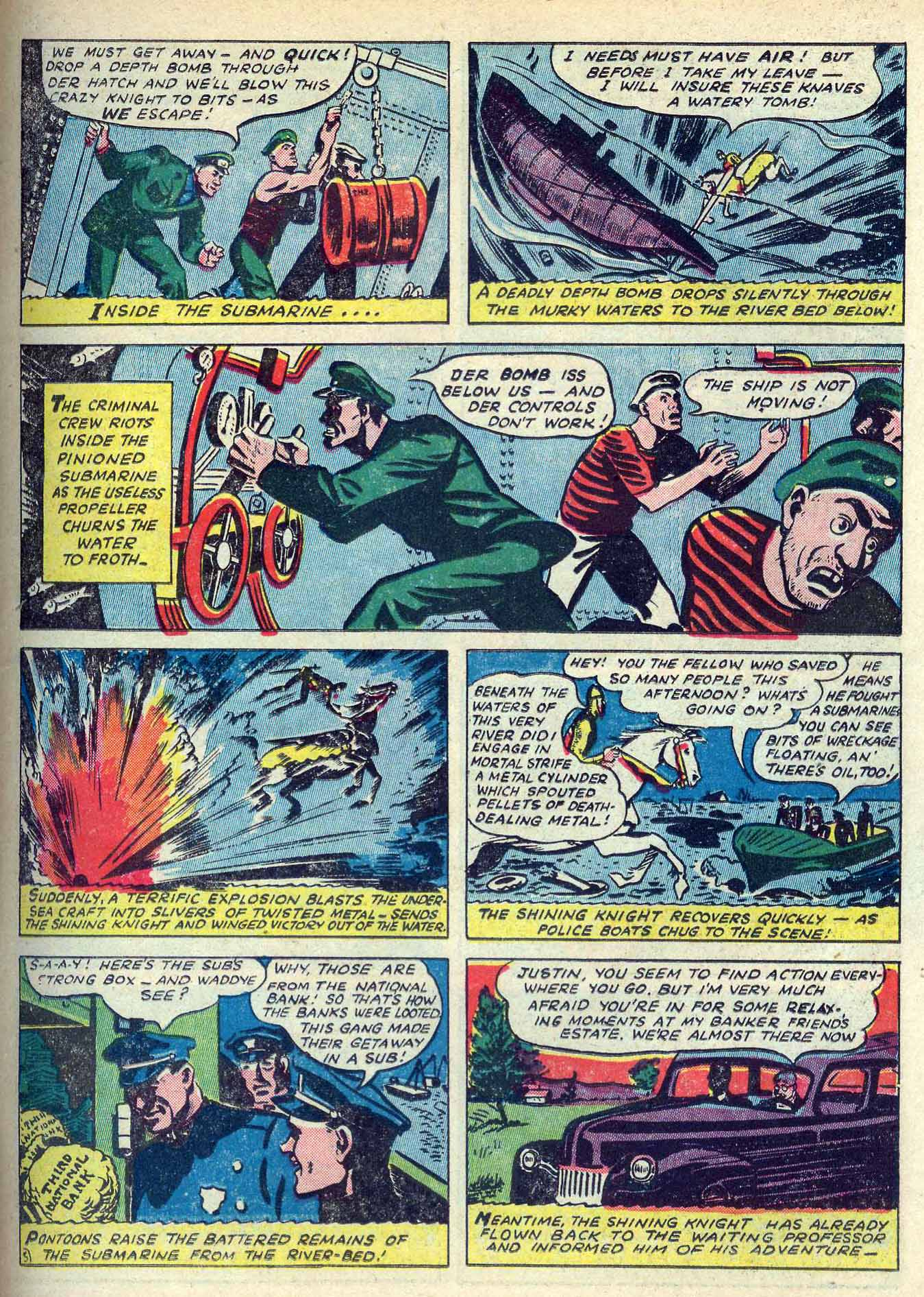 Read online Adventure Comics (1938) comic -  Issue #70 - 21
