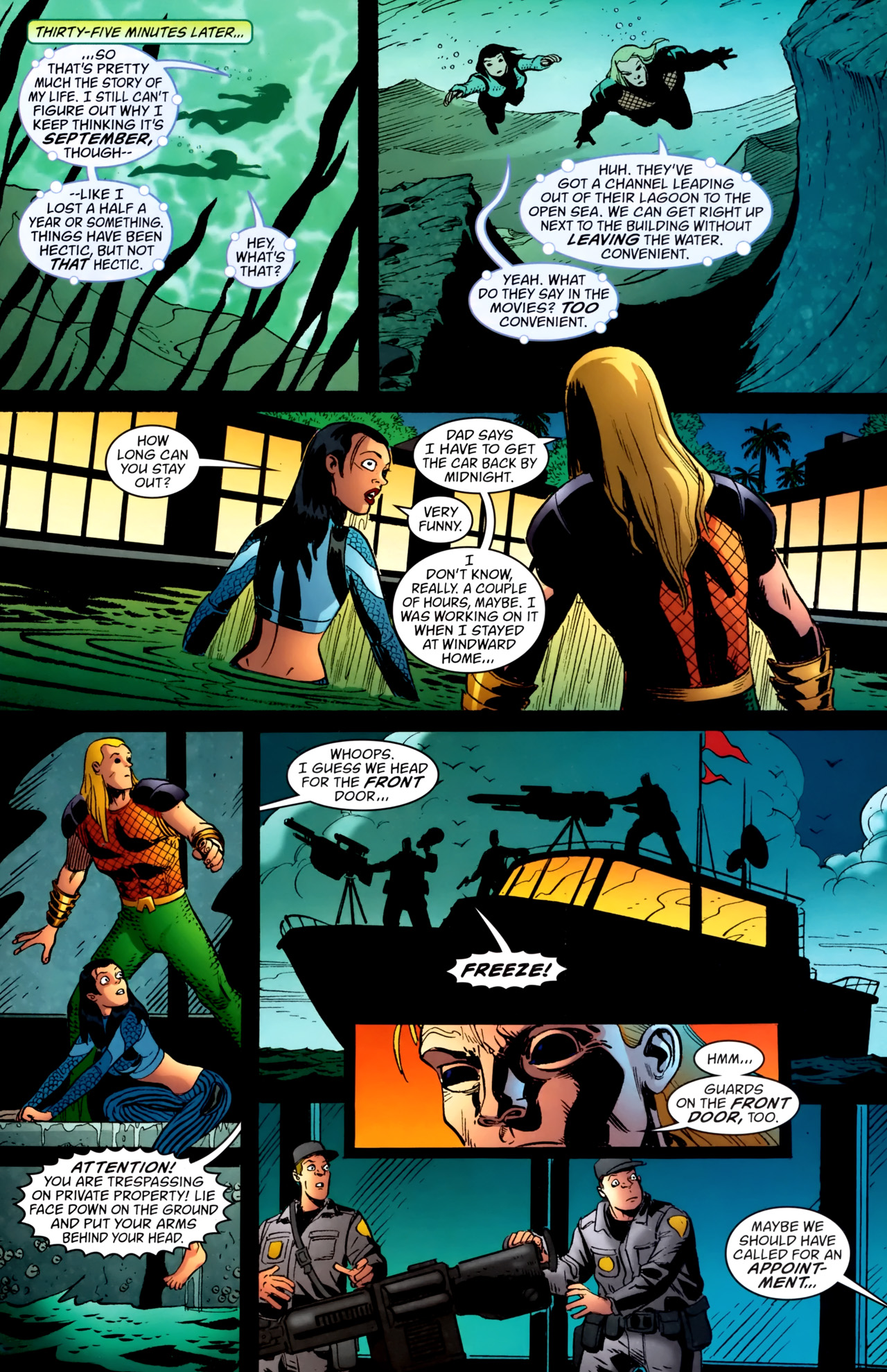 Read online Aquaman: Sword of Atlantis comic -  Issue #54 - 8