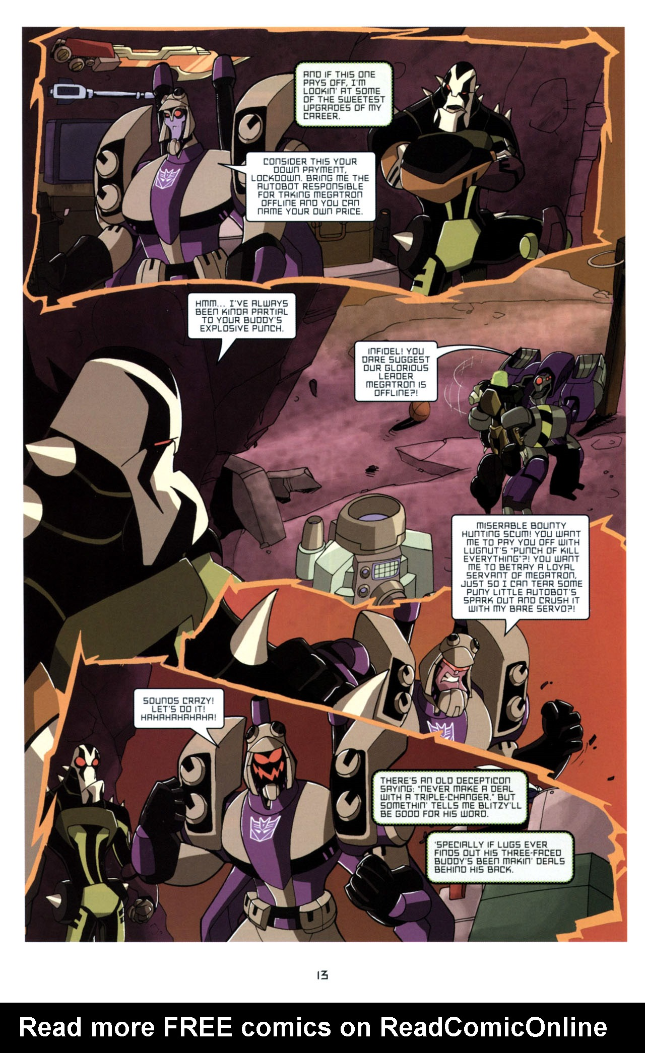 Read online Transformers Animated: The Arrival comic -  Issue #4 - 16