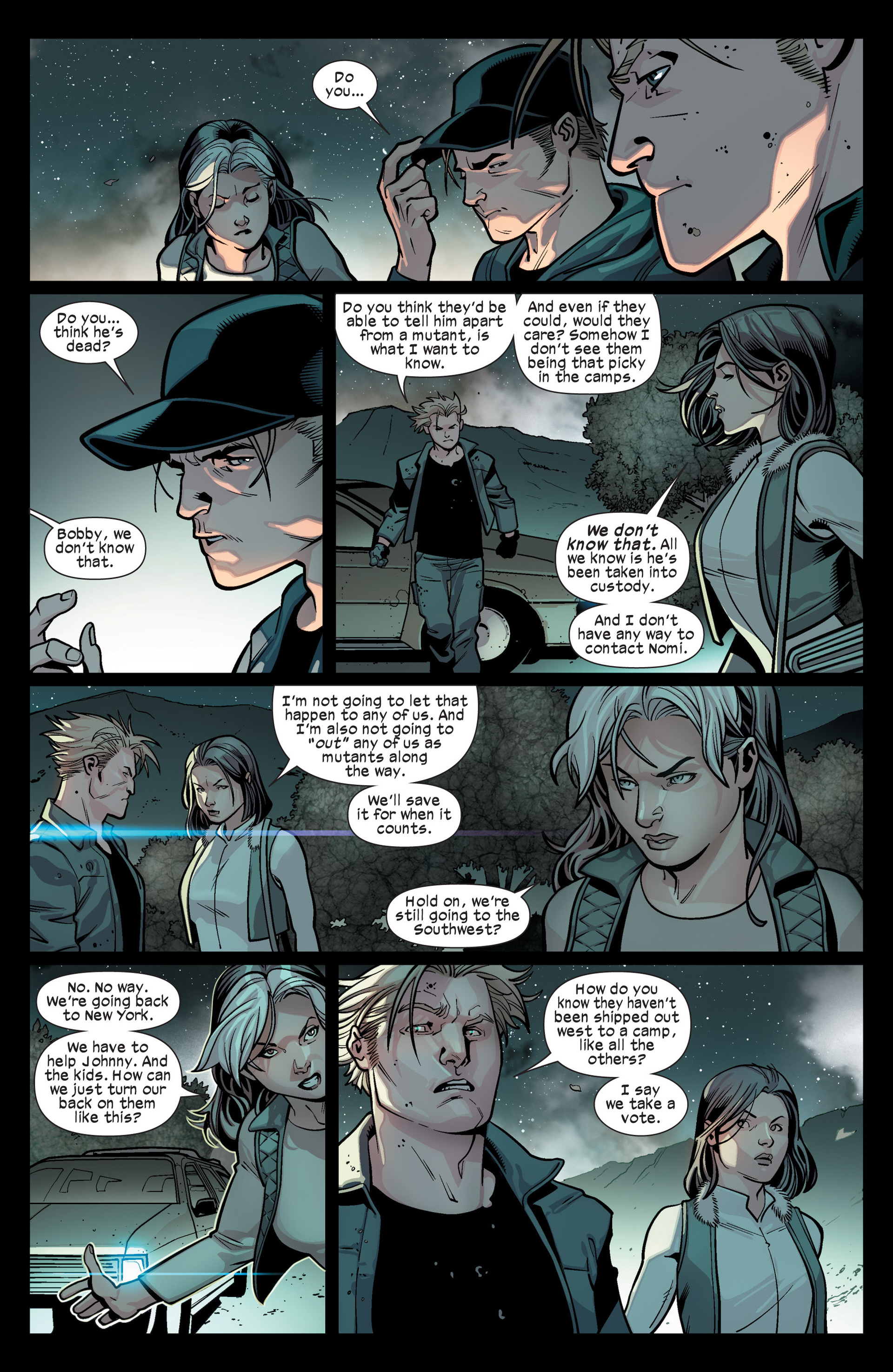 Read online Ultimate Comics X-Men comic -  Issue #15 - 15