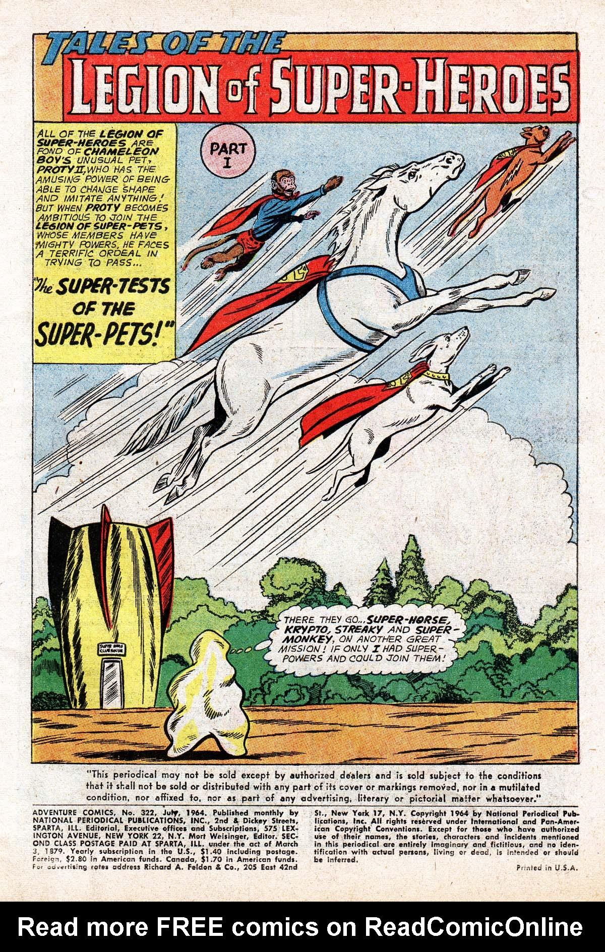 Read online Adventure Comics (1938) comic -  Issue #322 - 3