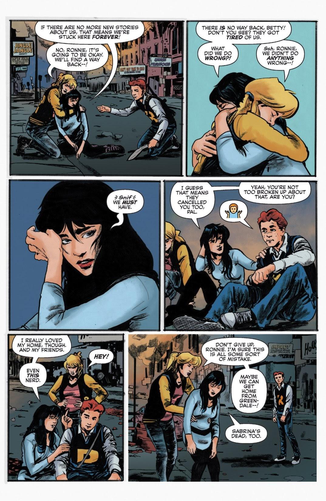 Archie vs. Predator II #1 #1 - English 8
