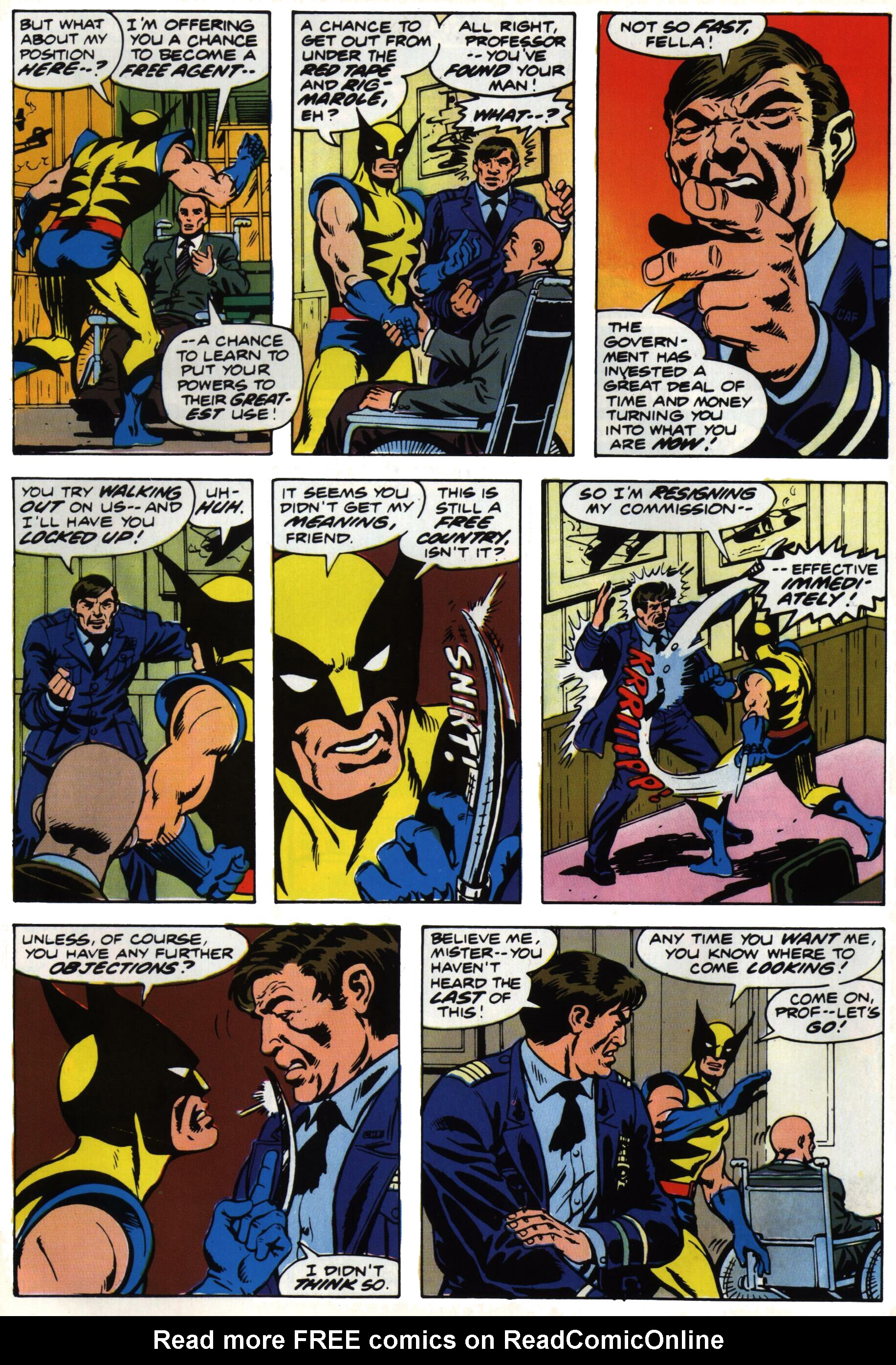 Read online Giant-Size X-Men comic -  Issue #1 - 7
