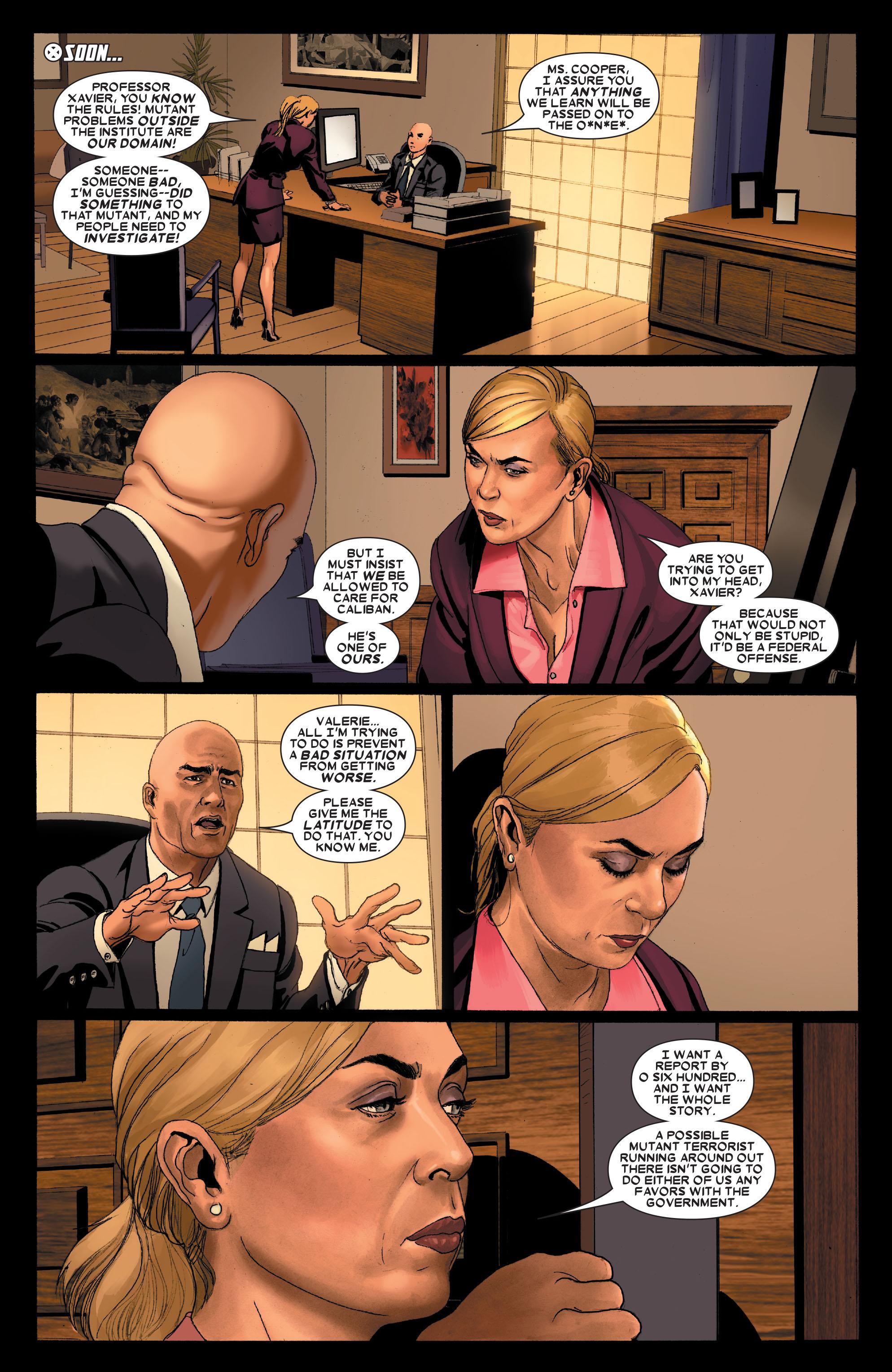 Read online Uncanny X-Men (1963) comic -  Issue #487 - 19