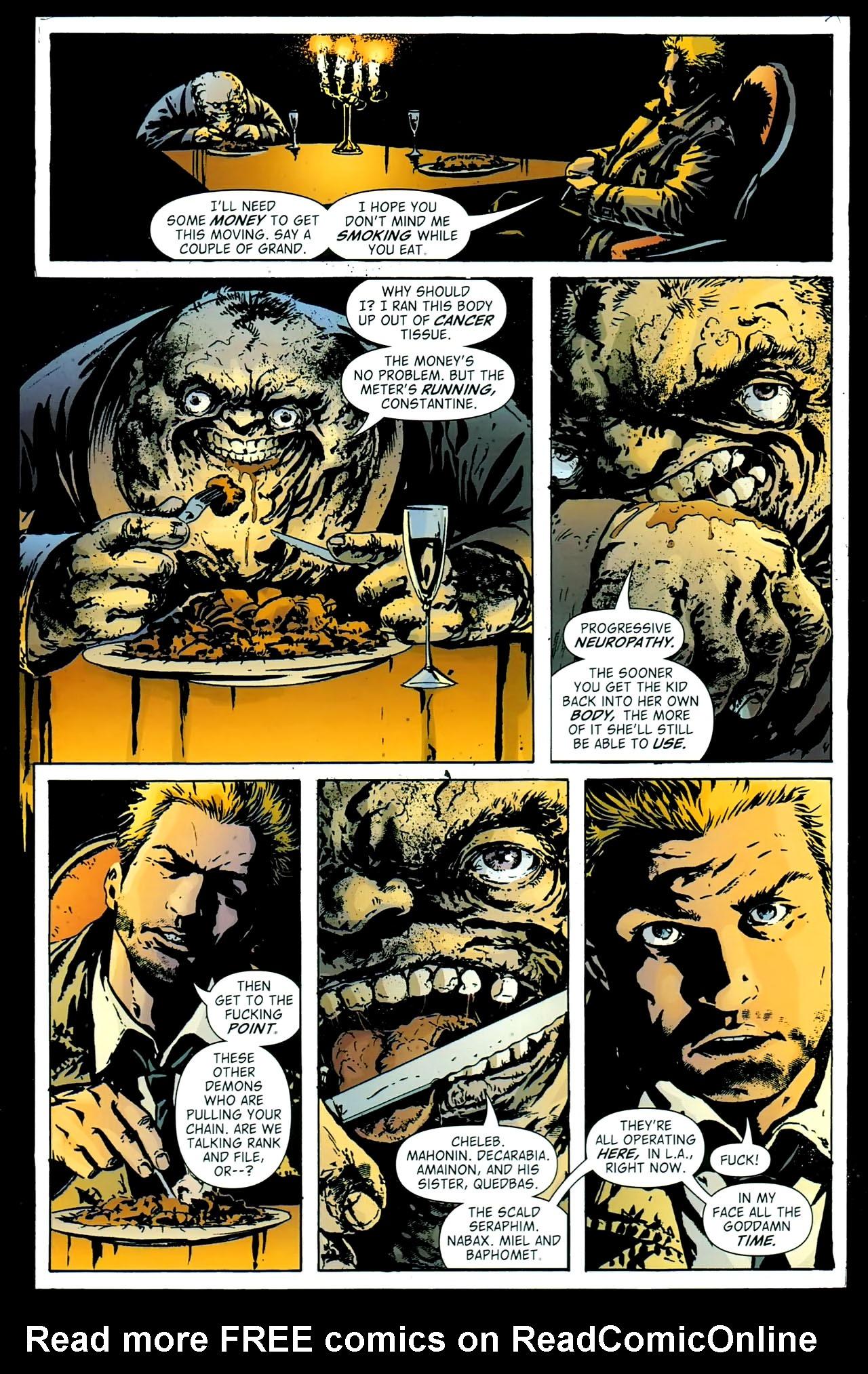 Read online John Constantine Hellblazer: All His Engines comic -  Issue # Full - 49