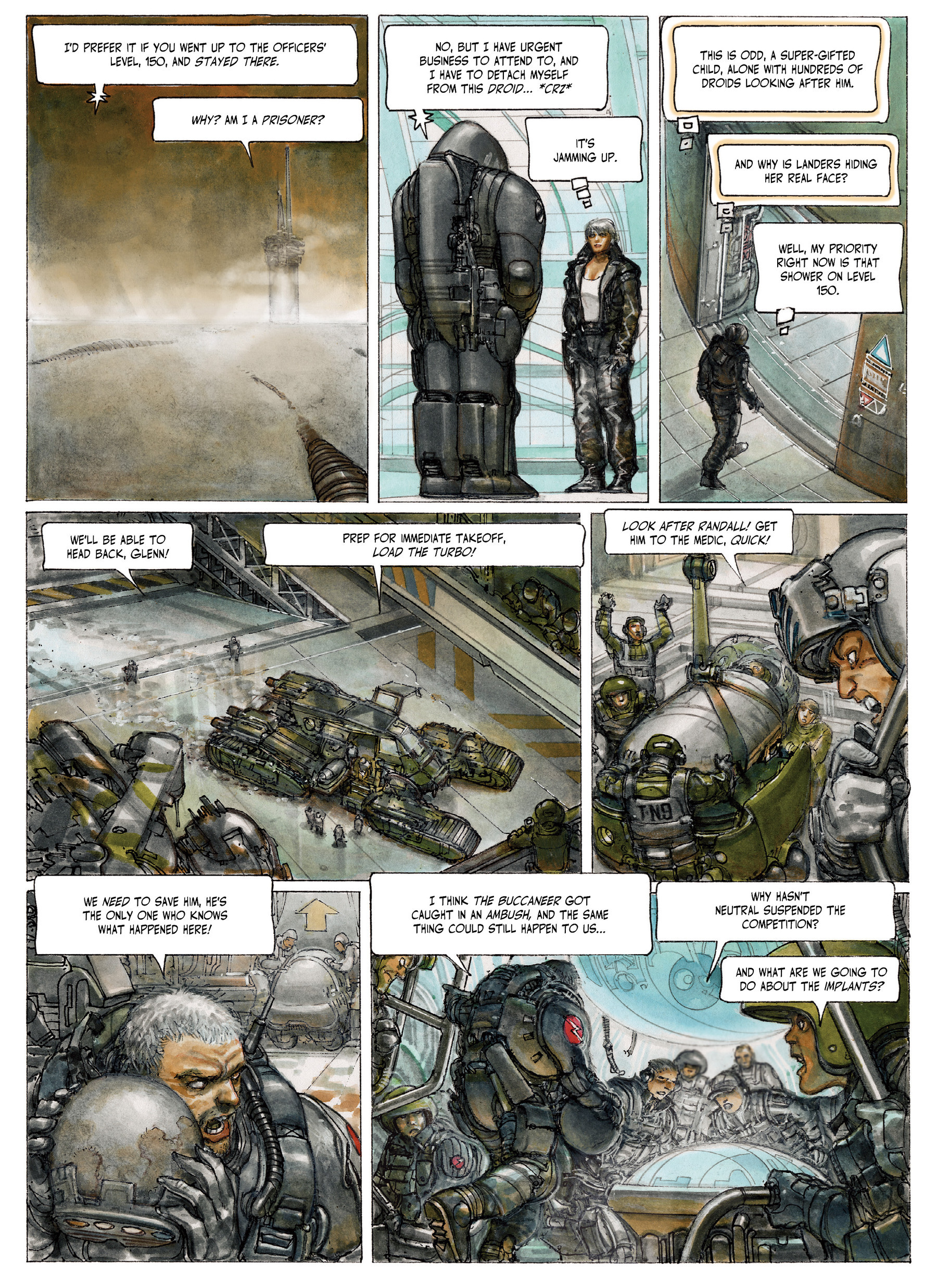 Read online The Fourth Power comic -  Issue #4 - 21