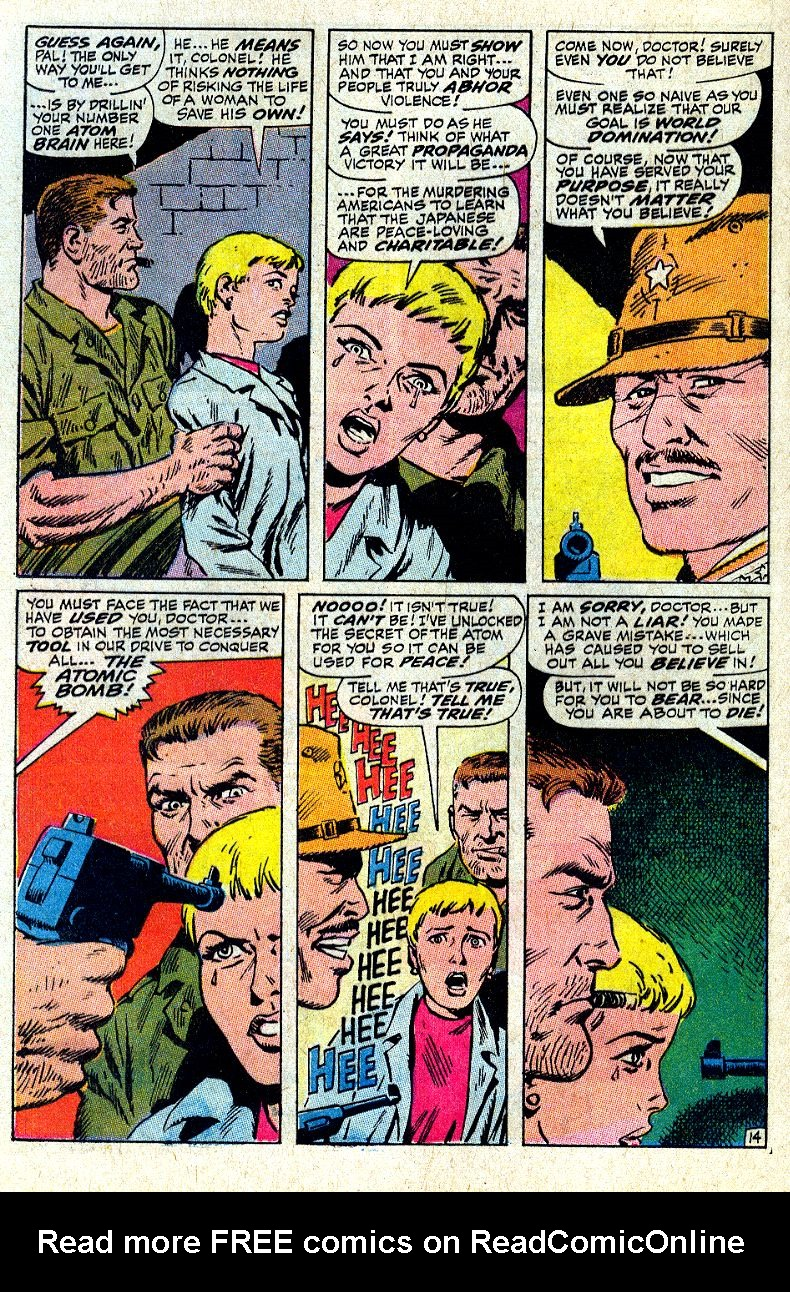 Read online Sgt. Fury comic -  Issue #64 - 20