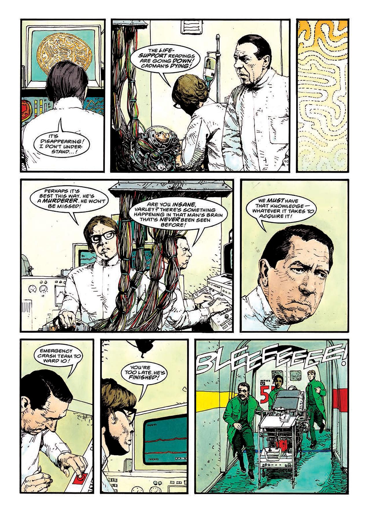 Read online Mazeworld comic -  Issue # TPB - 95