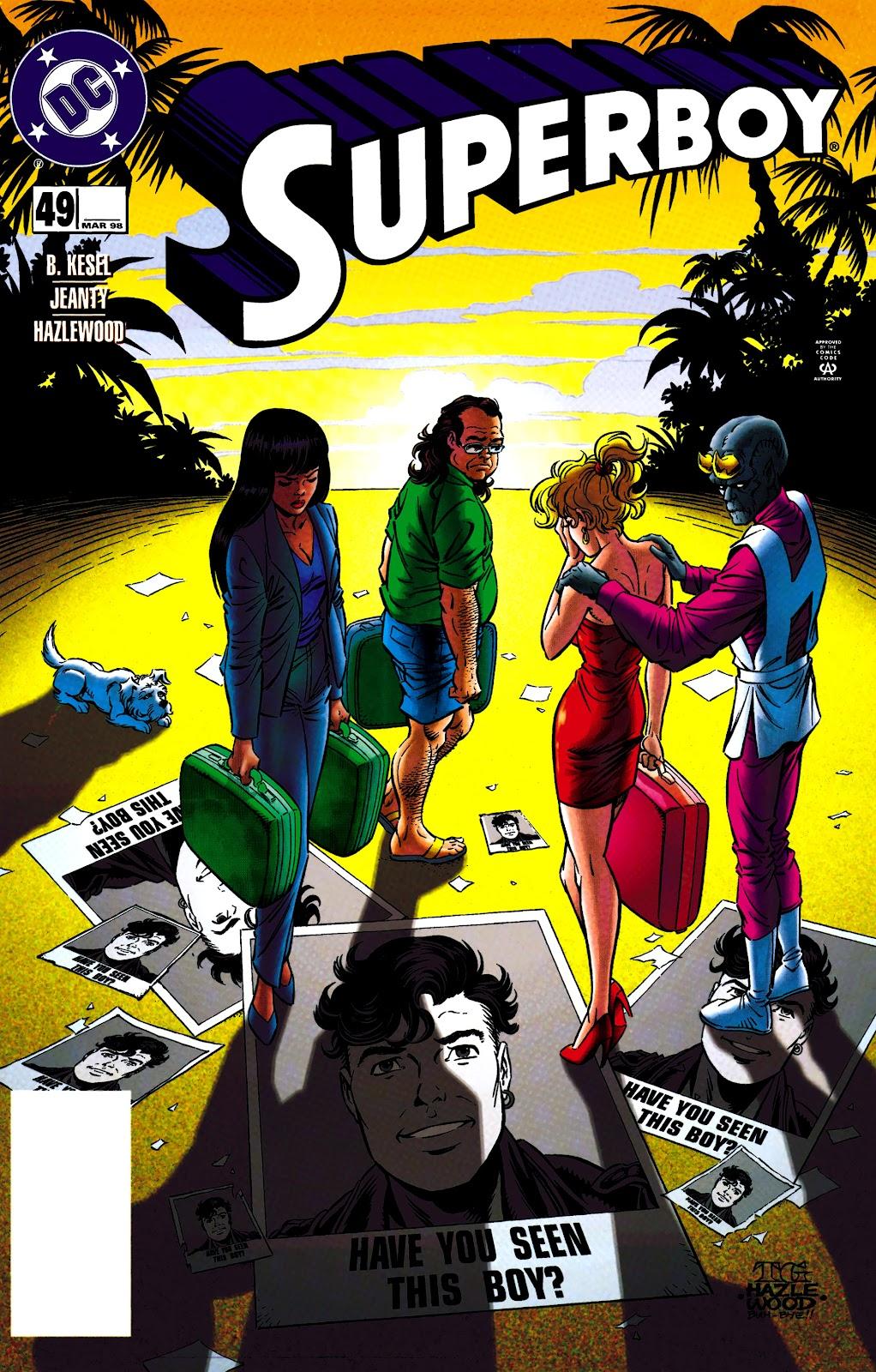 Superboy (1994) 49 Page 1