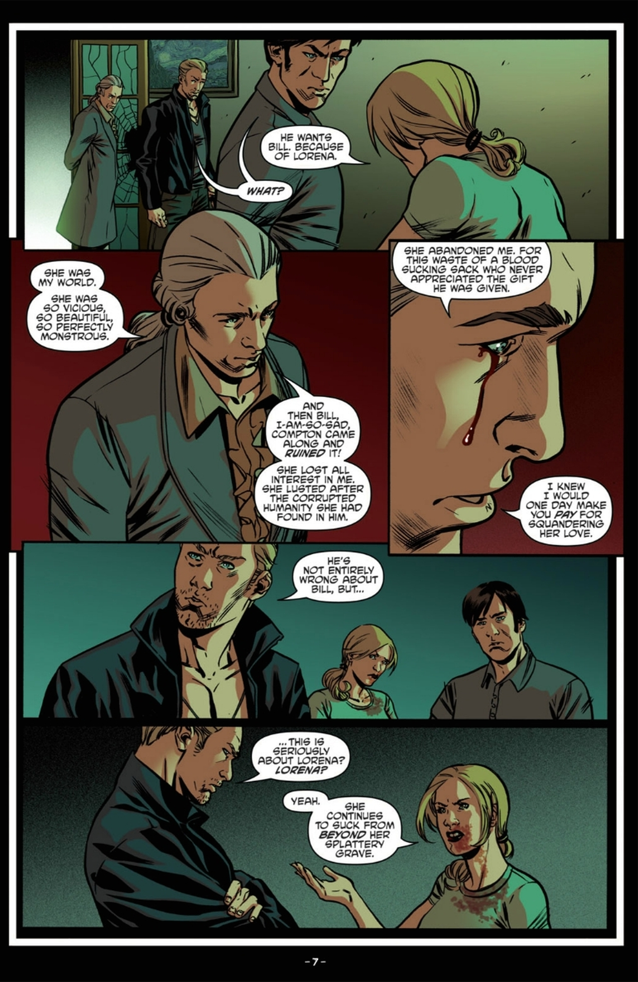 Read online True Blood: French Quarter comic -  Issue #6 - 12