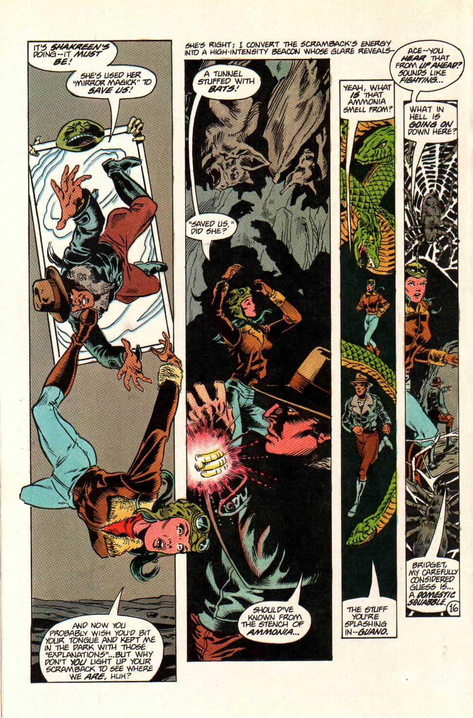 Read online Aztec Ace comic -  Issue #11 - 14