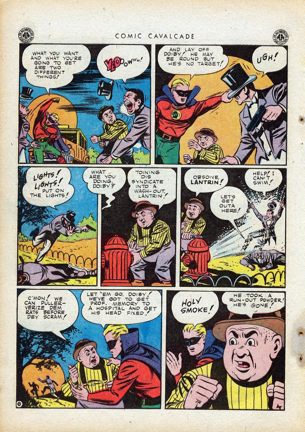Comic Cavalcade issue 10 - Page 44