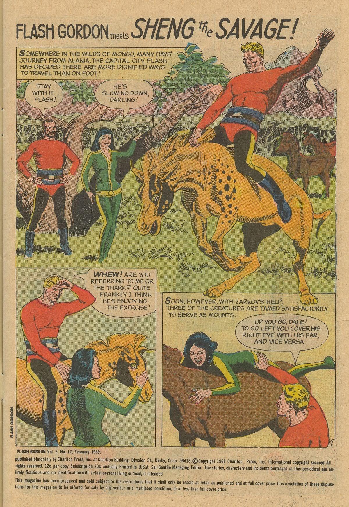 Flash Gordon (1969) issue 12 - Page 3