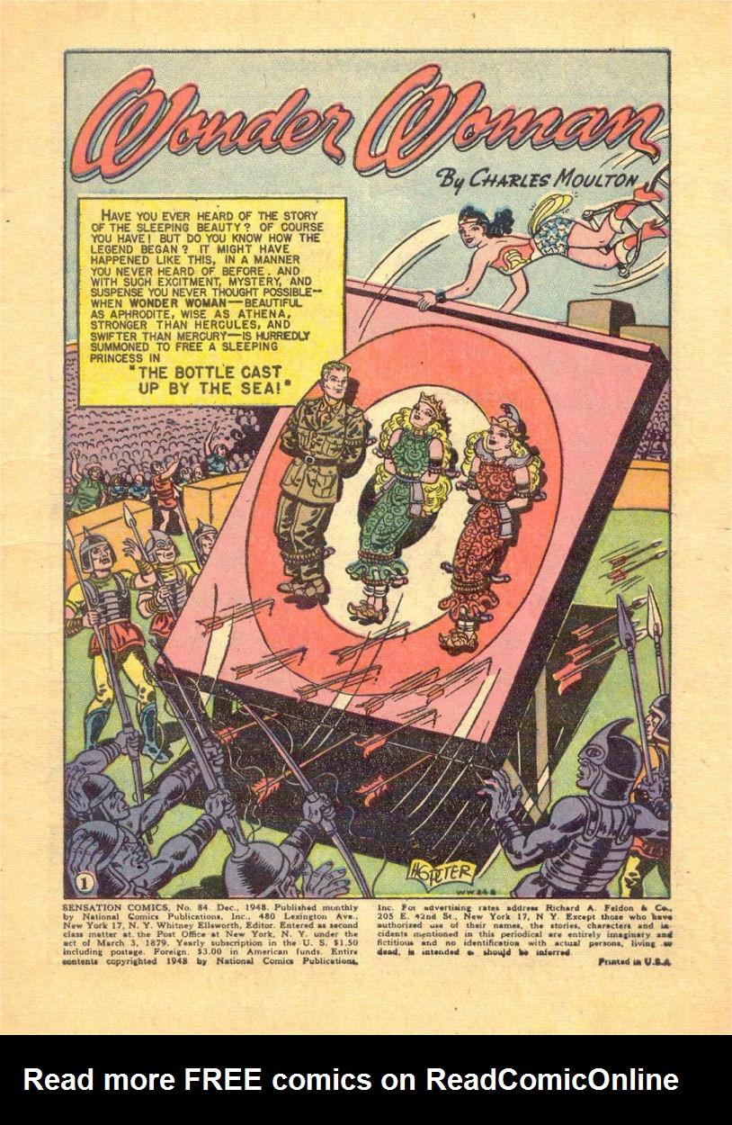Read online Sensation (Mystery) Comics comic -  Issue #84 - 3