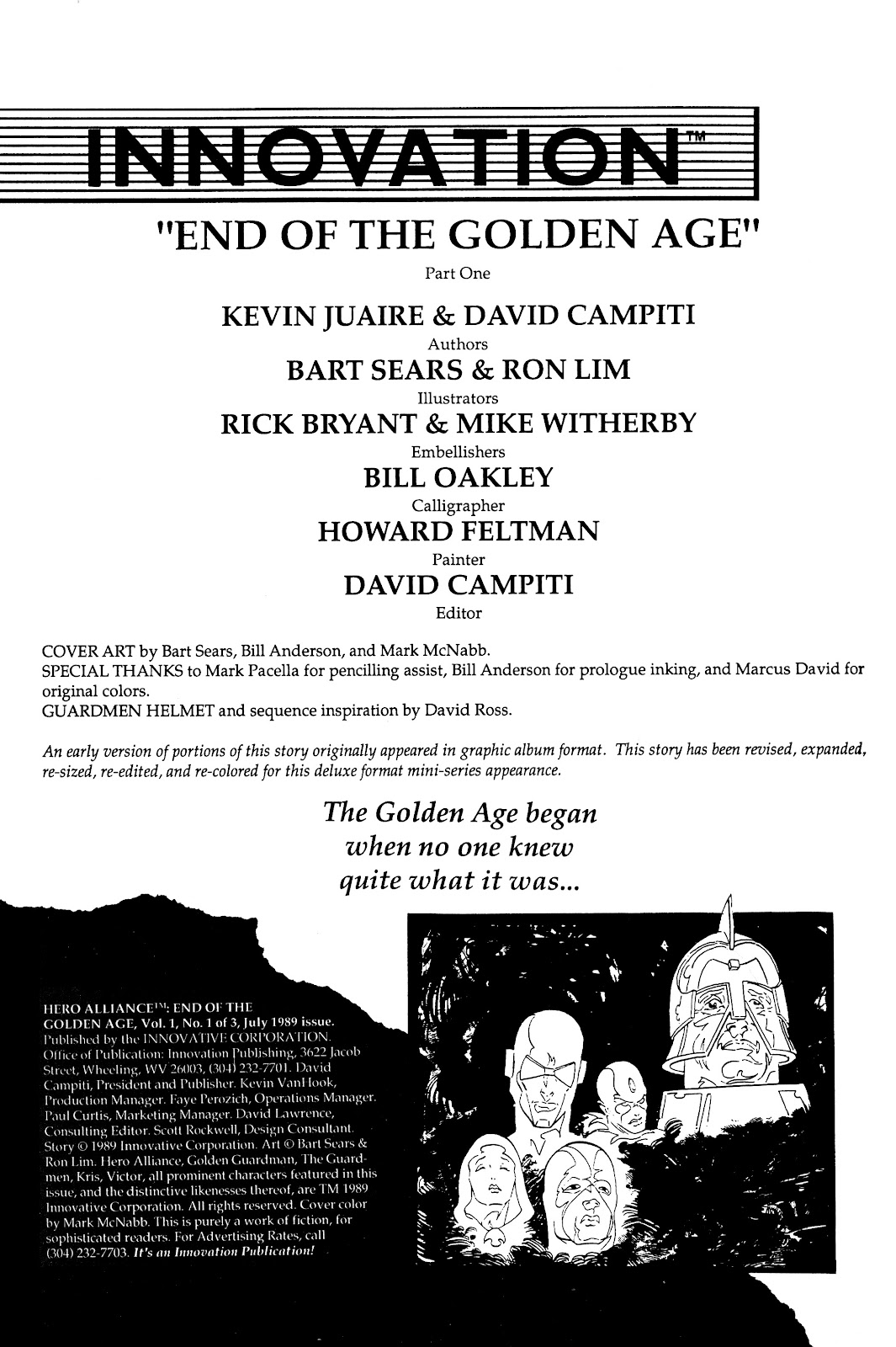Read online Hero Alliance: End of Golden Age comic -  Issue #1 - 2
