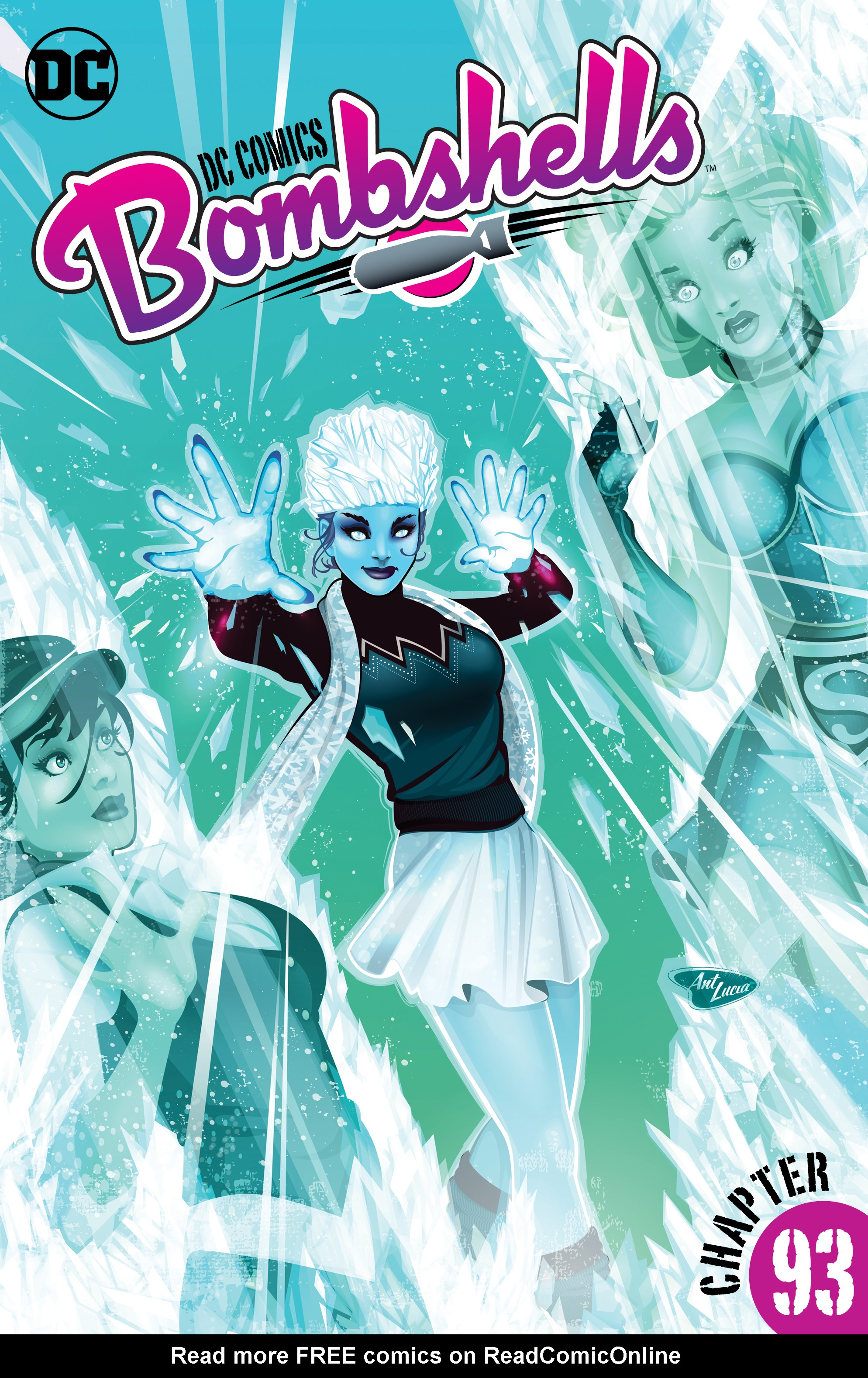 Read online DC Comics: Bombshells comic -  Issue #93 - 2