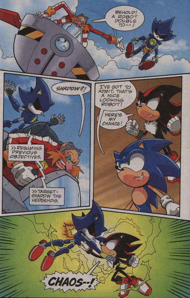 Read online Sonic X comic -  Issue #40 - 25