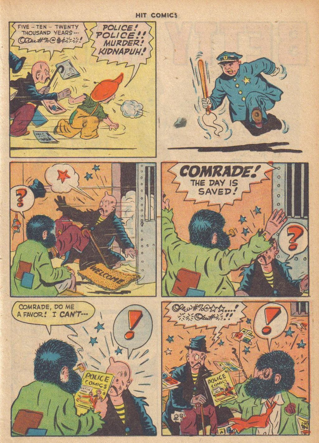 Read online Hit Comics comic -  Issue #46 - 29