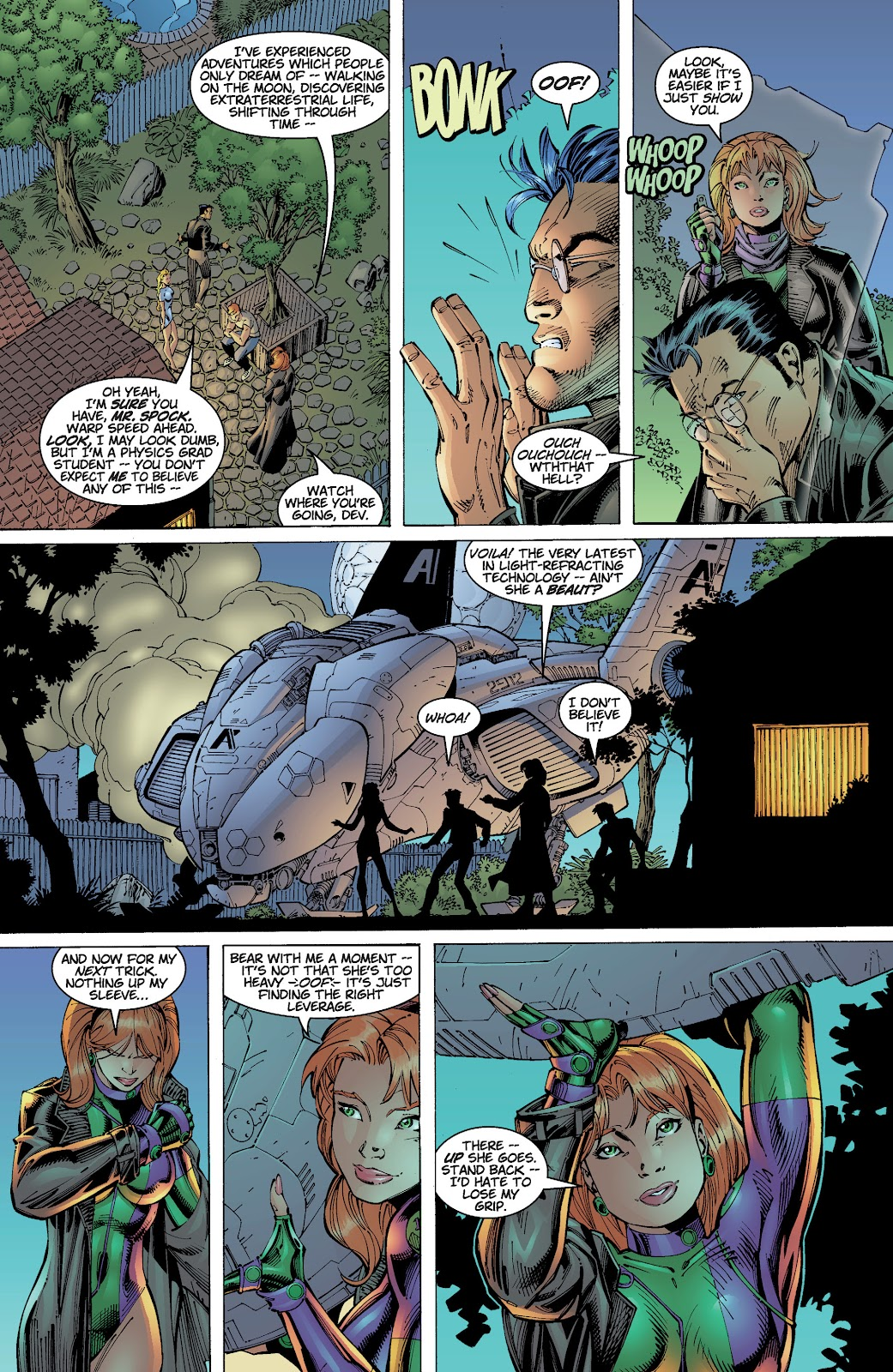 Read online Divine Right comic -  Issue # _TPB The Adventures of Max Faraday (Part 2) - 10