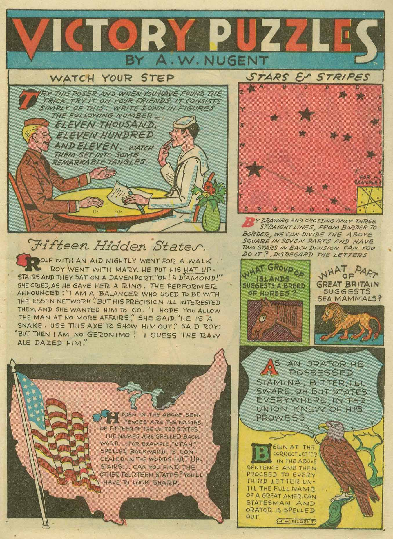 Read online Sensation (Mystery) Comics comic -  Issue #14 - 55