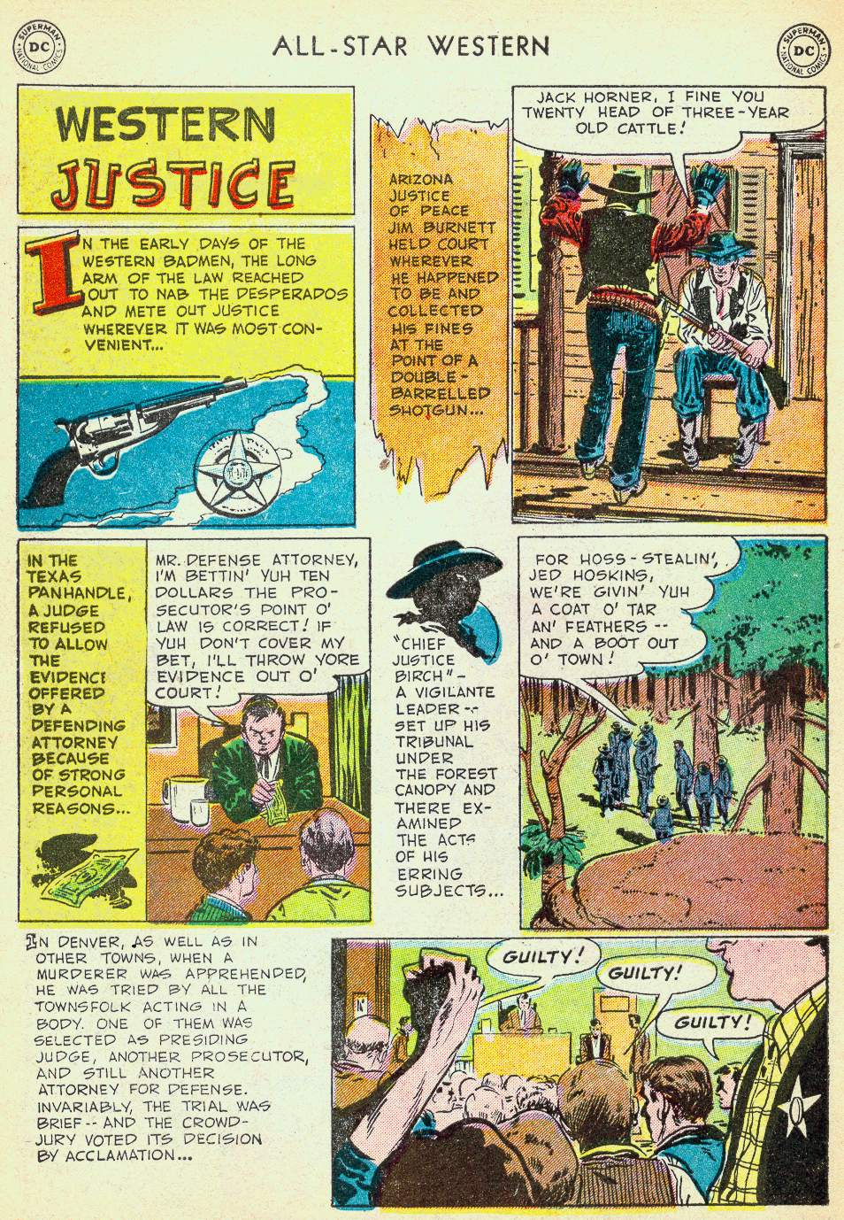 Read online All-Star Western (1951) comic -  Issue #63 - 34