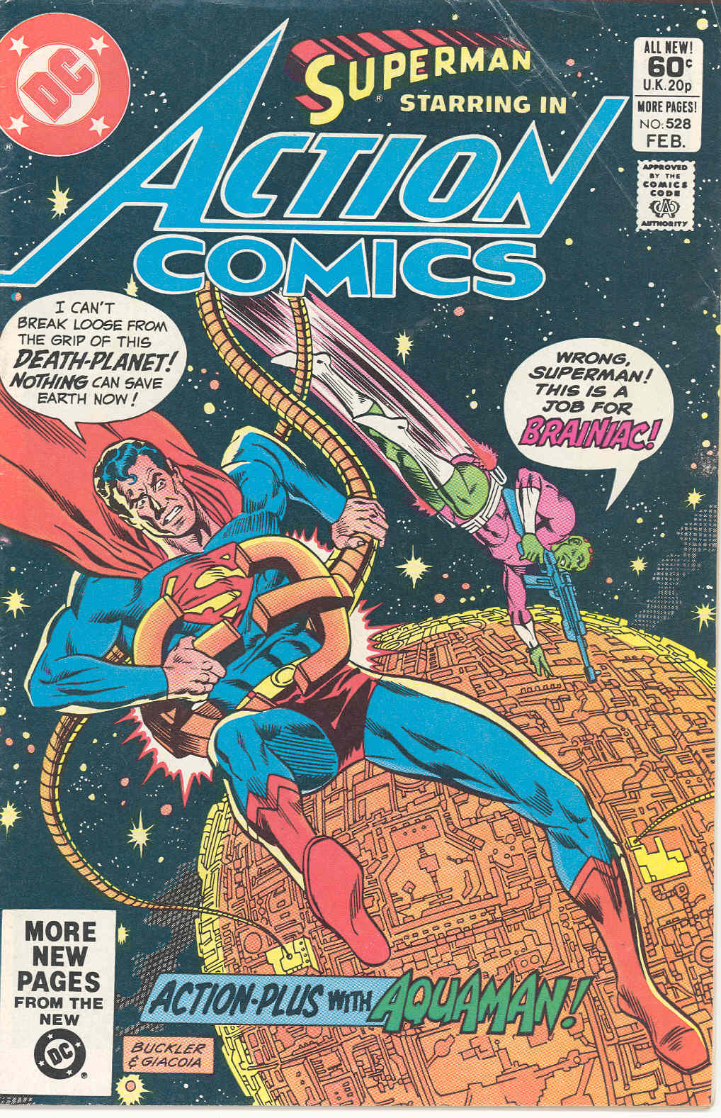 Action Comics (1938) 528 Page 1