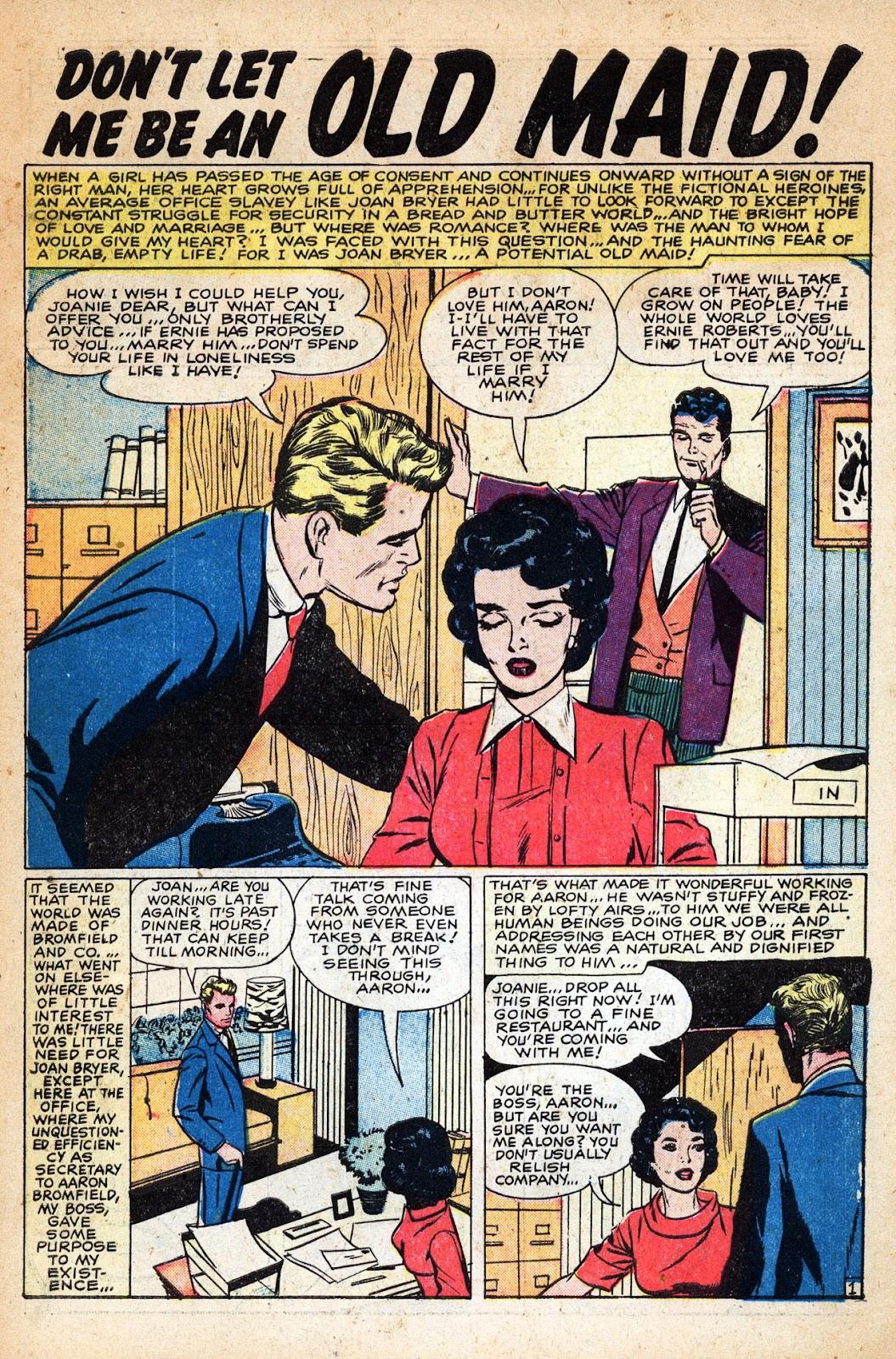 Love Romances (1949) issue 83 - Page 3