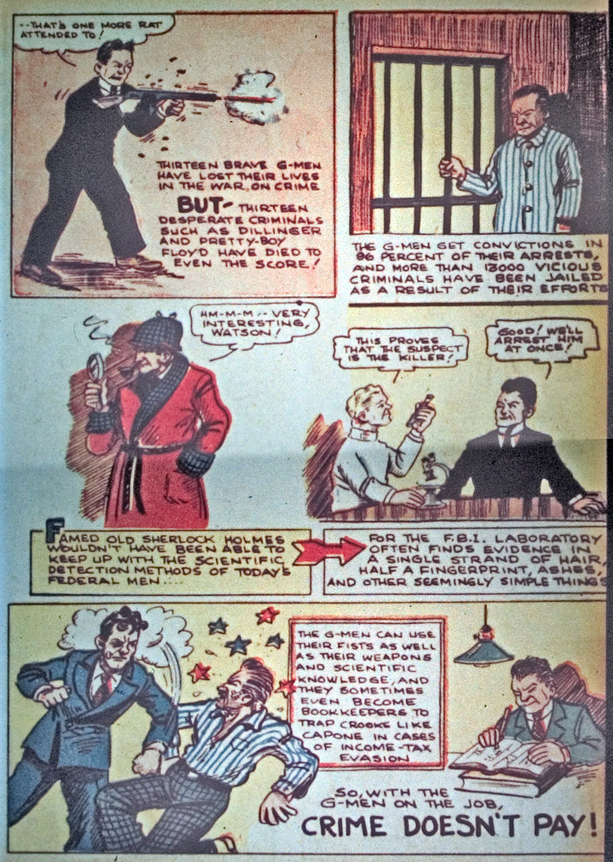 Read online Detective Comics (1937) comic -  Issue #34 - 49