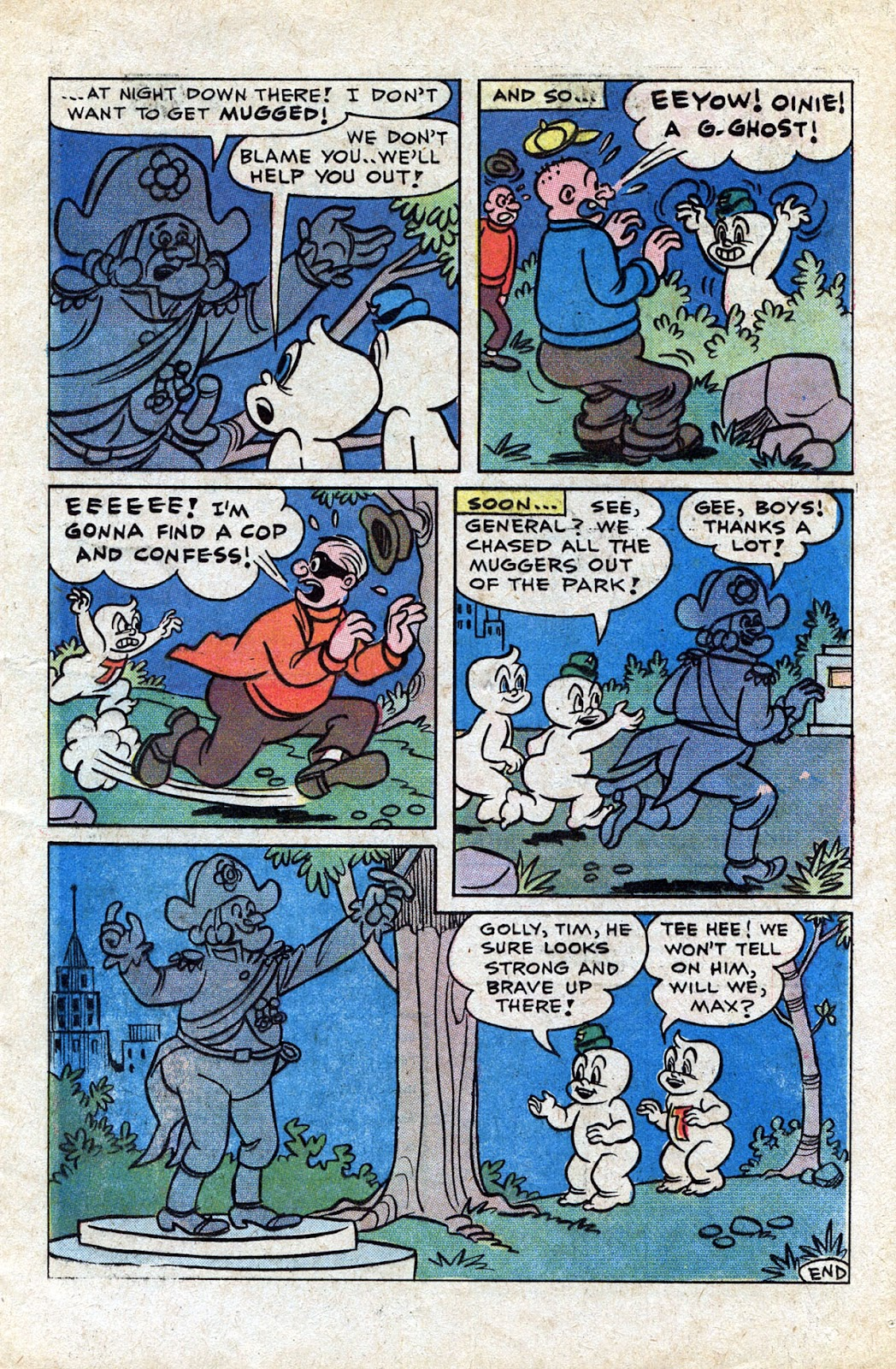 Read online Timmy the Timid Ghost comic -  Issue #20 - 13