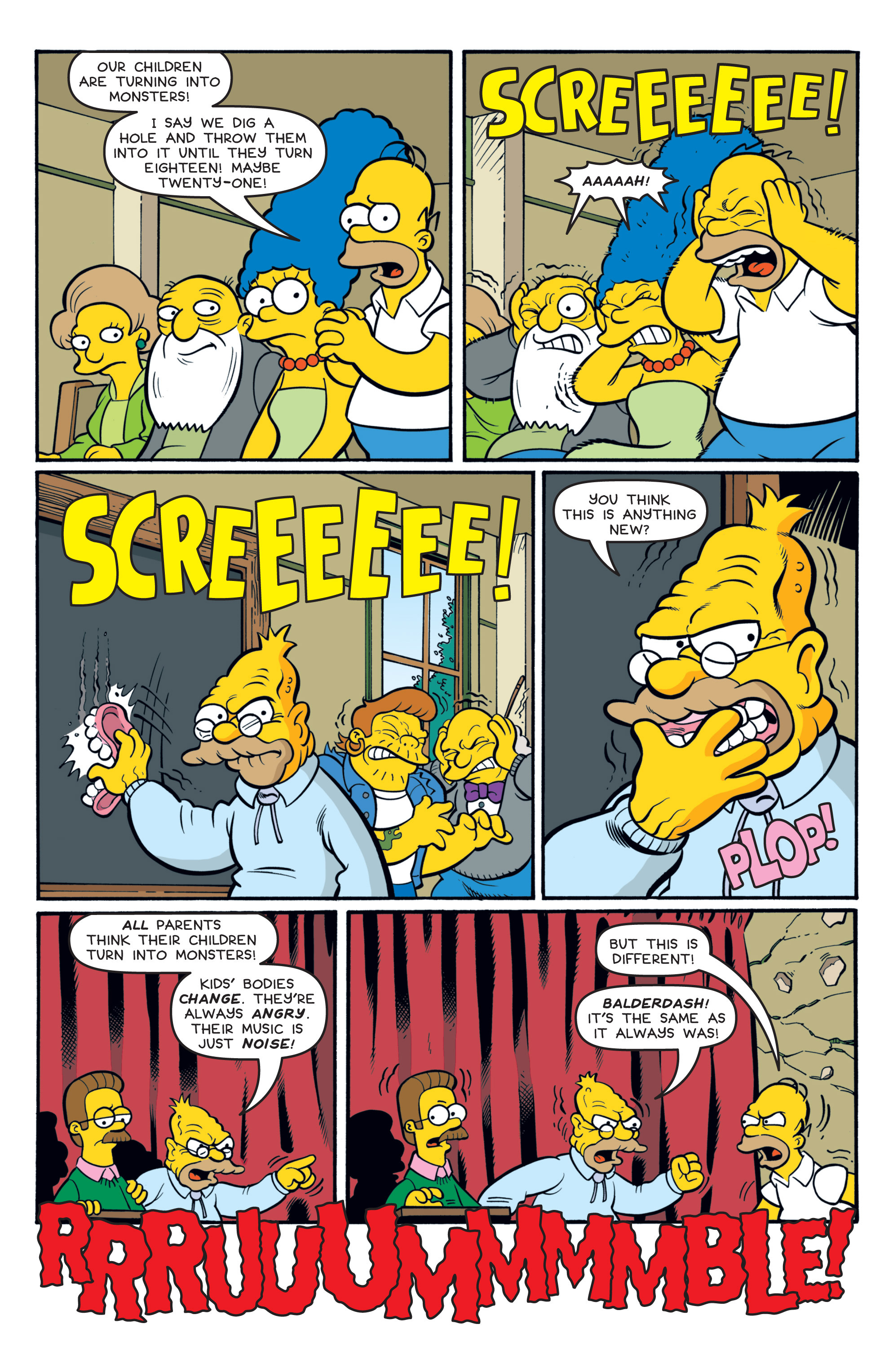 Read online Treehouse of Horror comic -  Issue #19 - 21