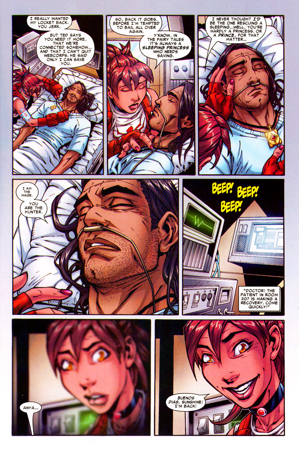 Read online Araña: Heart of the Spider comic -  Issue #5 - 4