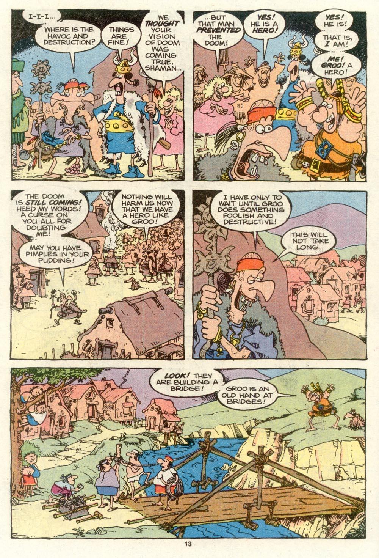 Read online Sergio Aragonés Groo the Wanderer comic -  Issue #72 - 9