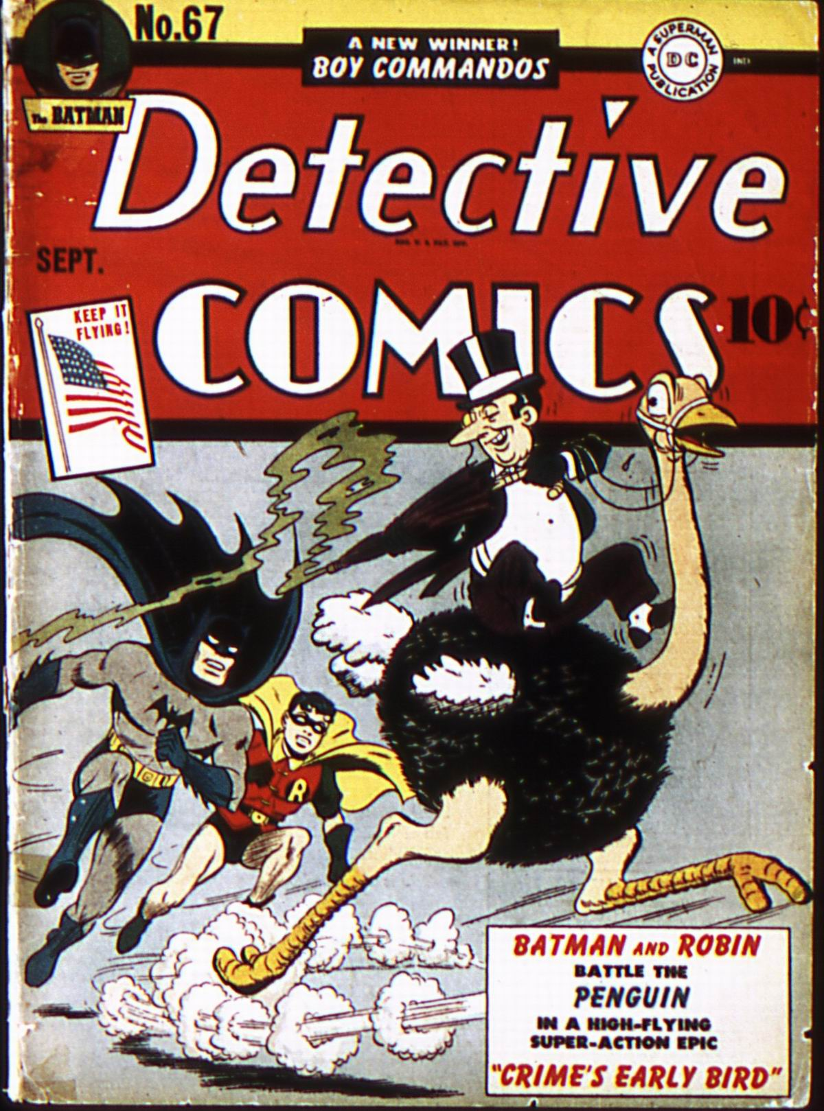 Read online Detective Comics (1937) comic -  Issue #67 - 1