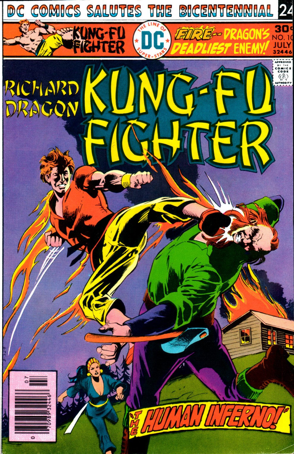 Richard Dragon, Kung-Fu Fighter 10 Page 1