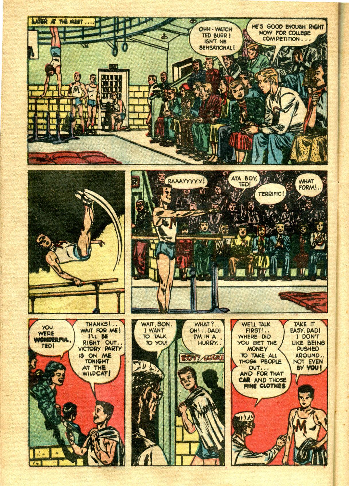 Read online Shadow Comics comic -  Issue #99 - 42