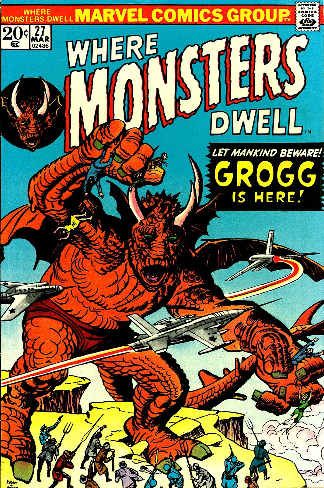 Where Monsters Dwell (1970) issue 27 - Page 1