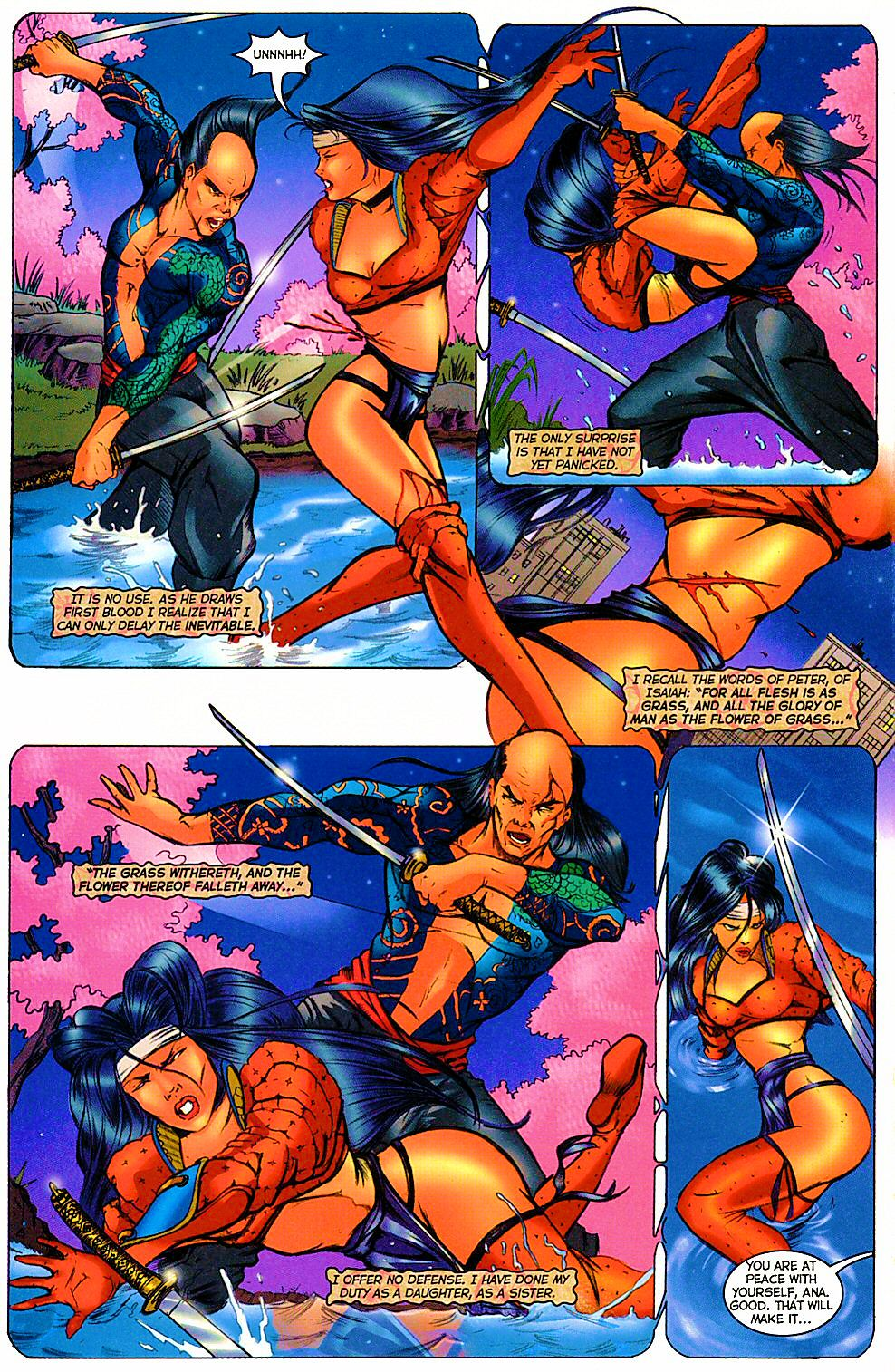 Read online Shi: The Way of the Warrior comic -  Issue #12 - 18
