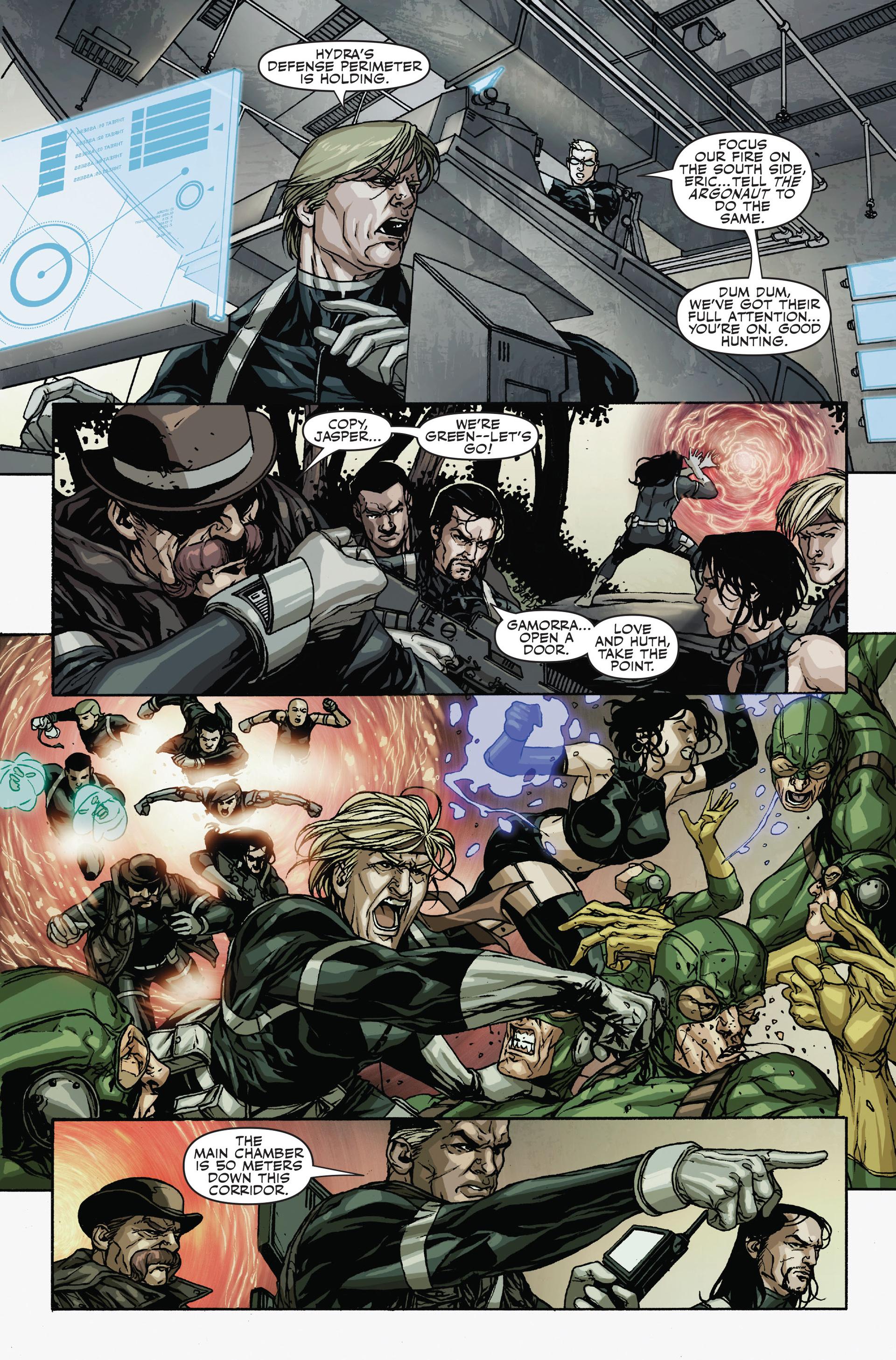 Read online Secret Warriors comic -  Issue #18 - 6