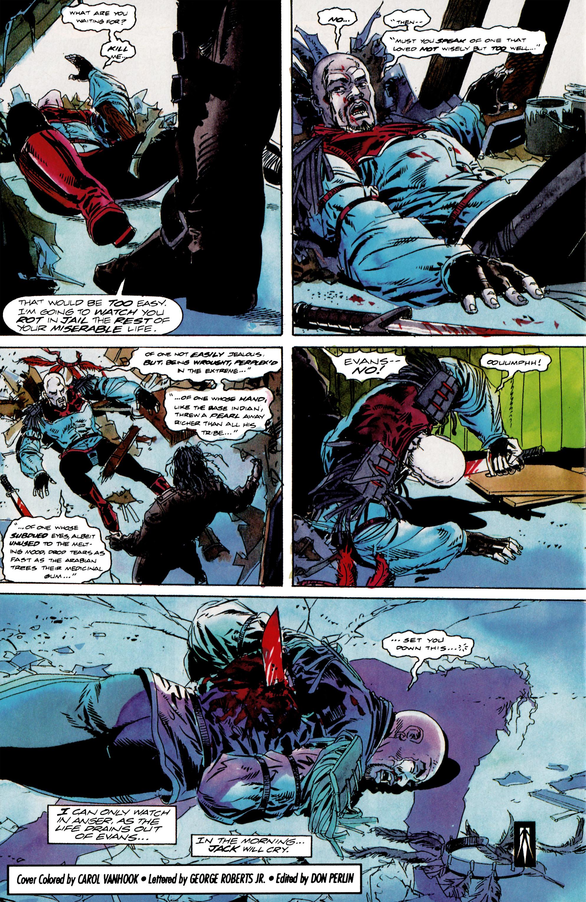 Read online Shadowman (1992) comic -  Issue #13 - 22