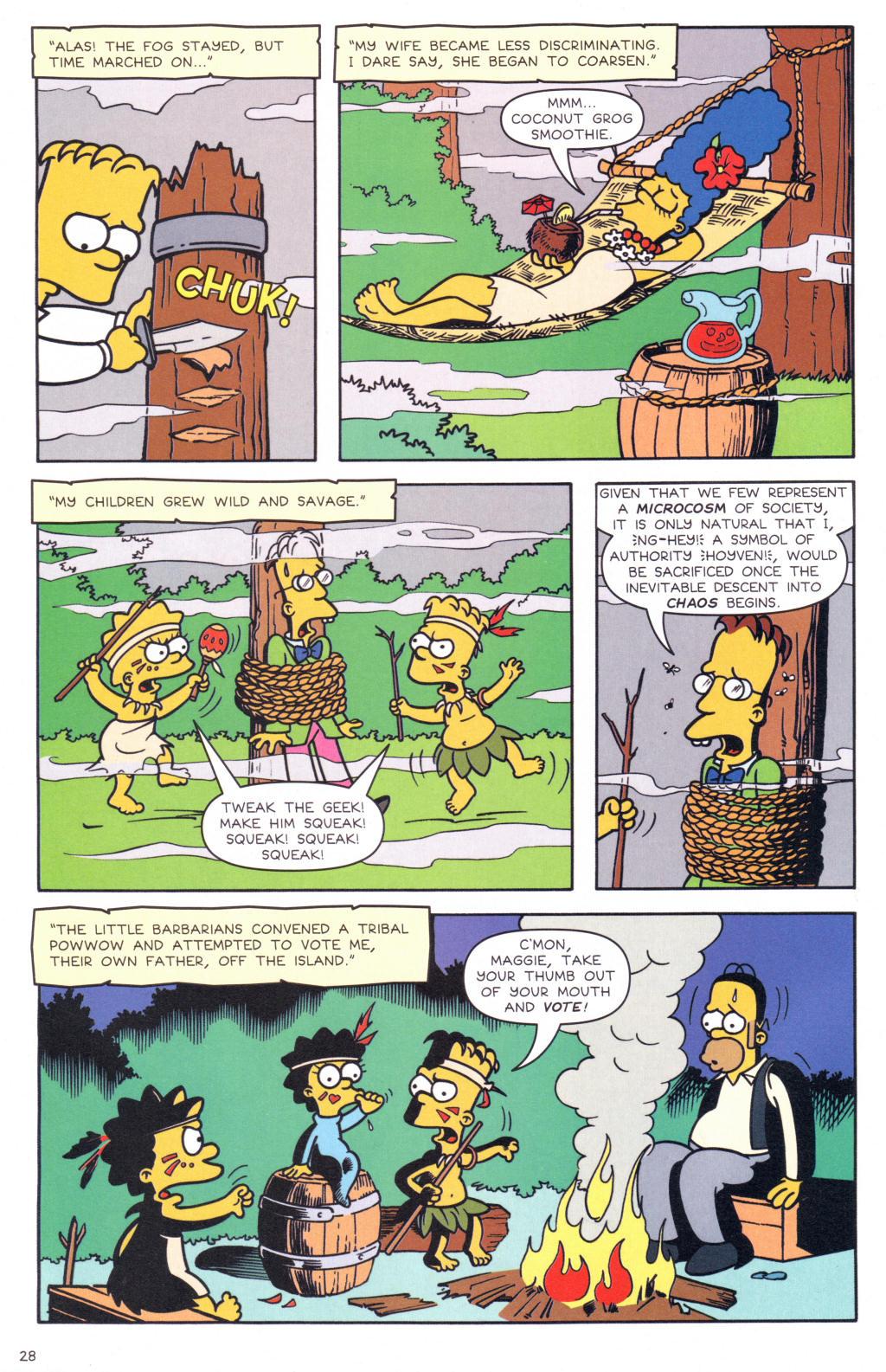 Read online Simpsons Comics comic -  Issue #127 - 23