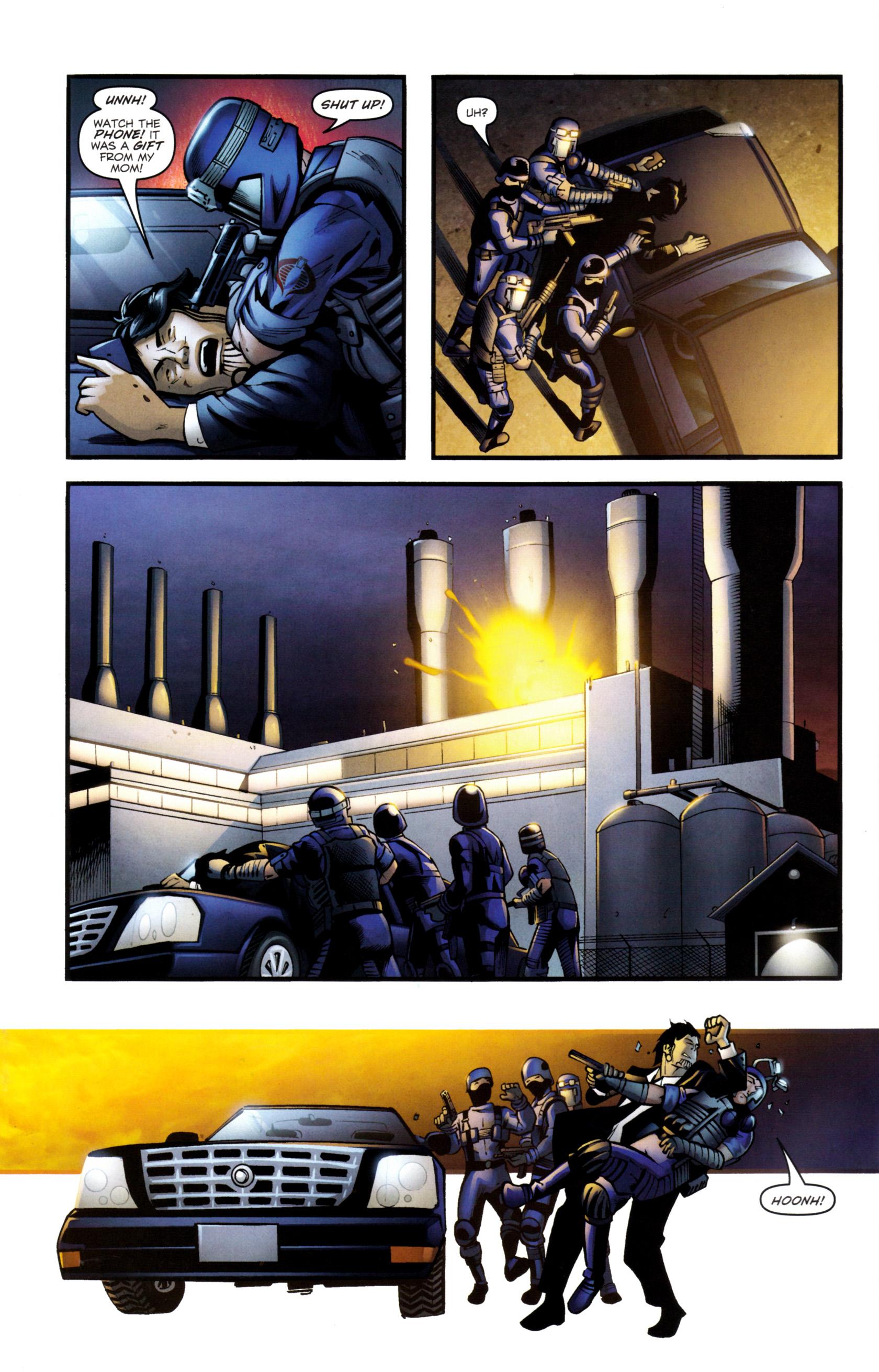 Read online G.I. Joe: Snake Eyes comic -  Issue #8 - 5