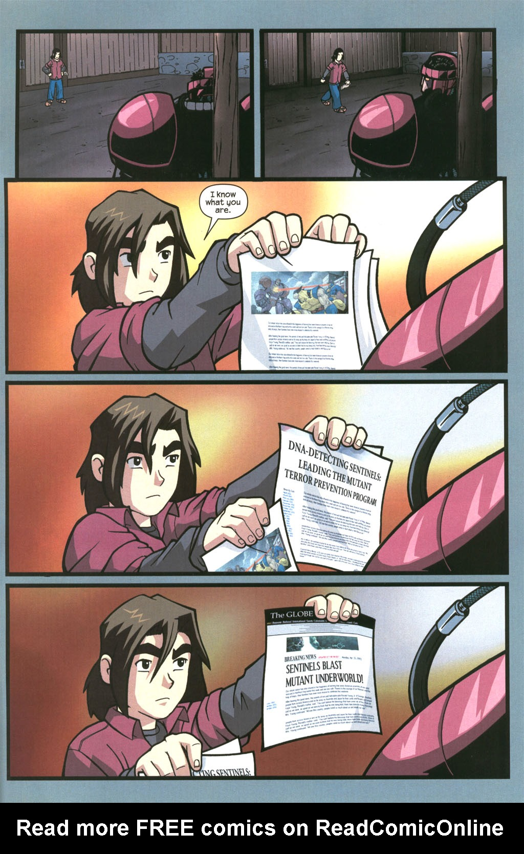 Read online Sentinel comic -  Issue #3 - 22