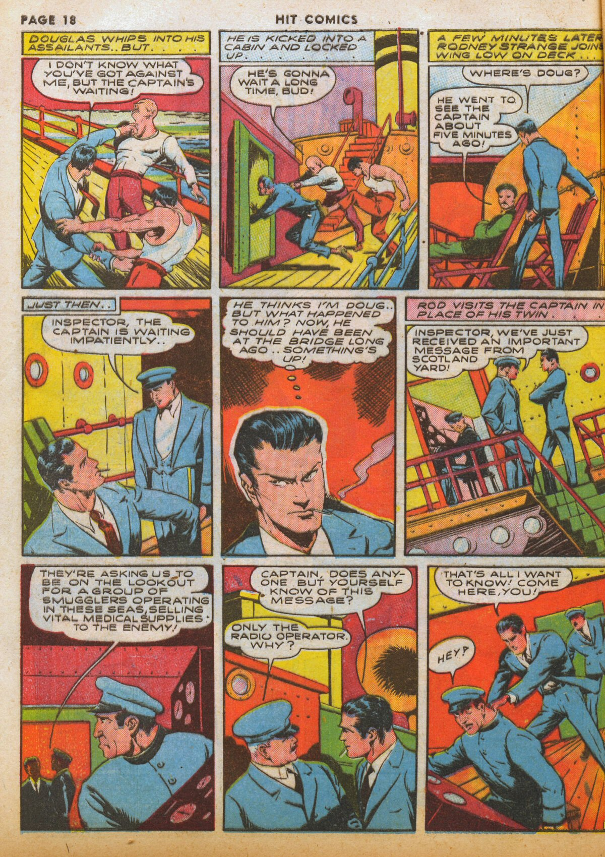 Read online Hit Comics comic -  Issue #12 - 20