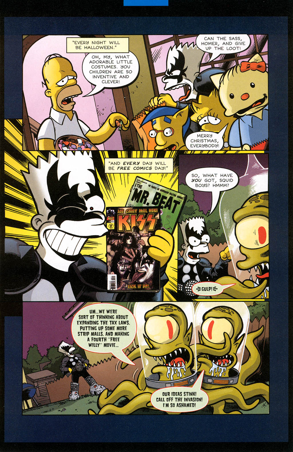 Read online Treehouse of Horror comic -  Issue #10 - 16