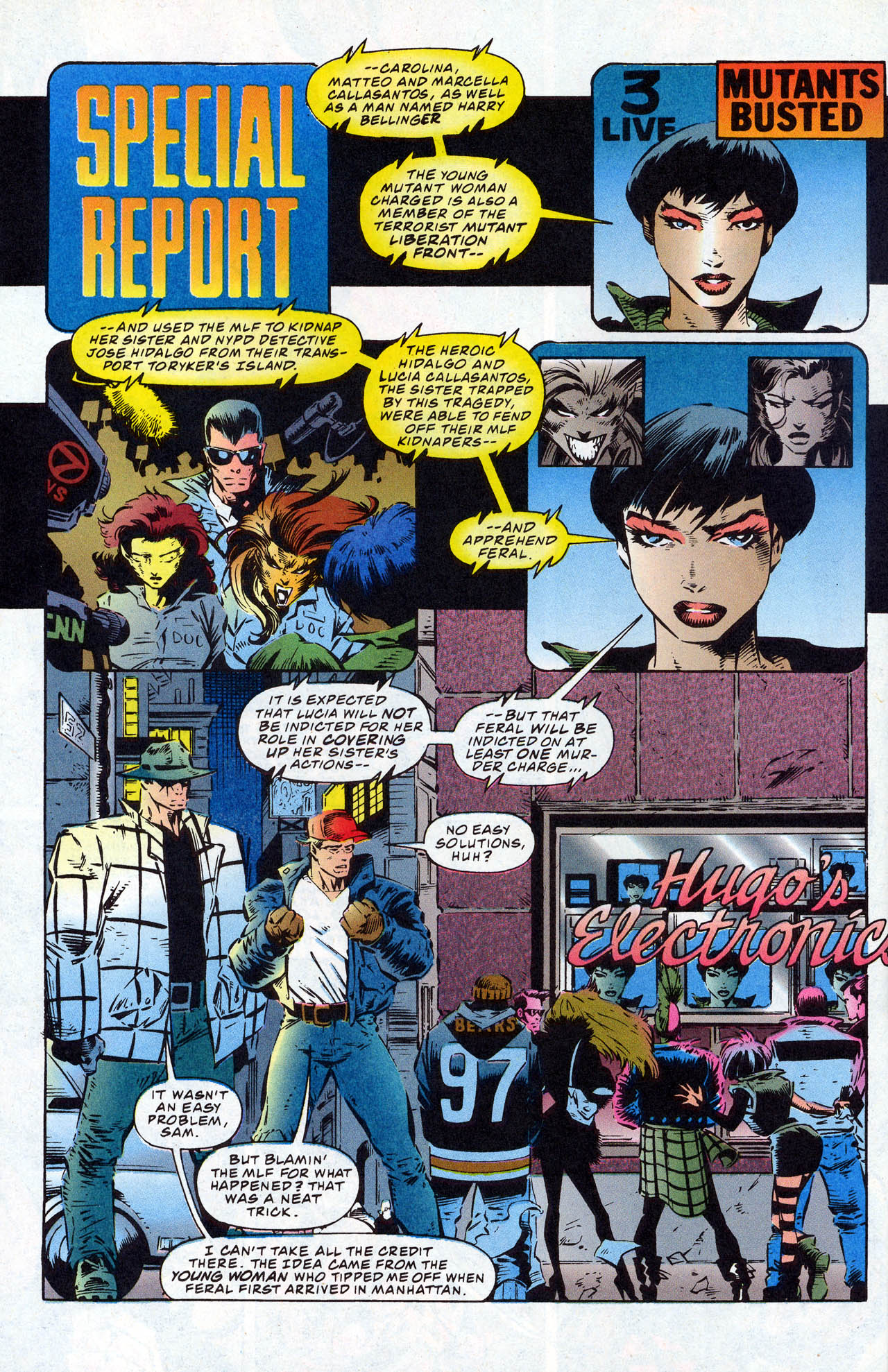 Read online X-Force (1991) comic -  Issue #41 - 30
